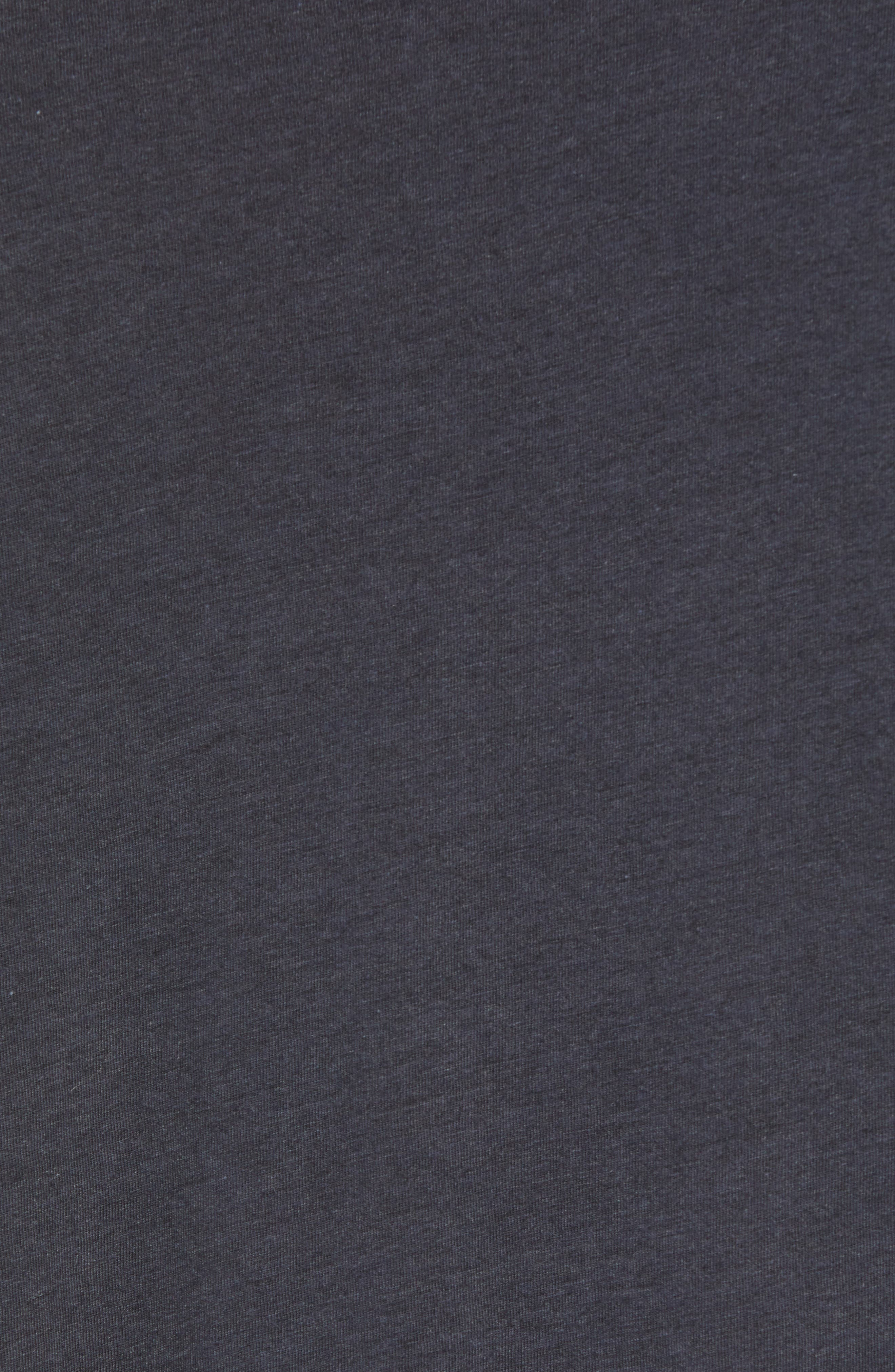 Ultimate T-Shirt,                             Alternate thumbnail 5, color,                             DARK GREY TRIBLEND
