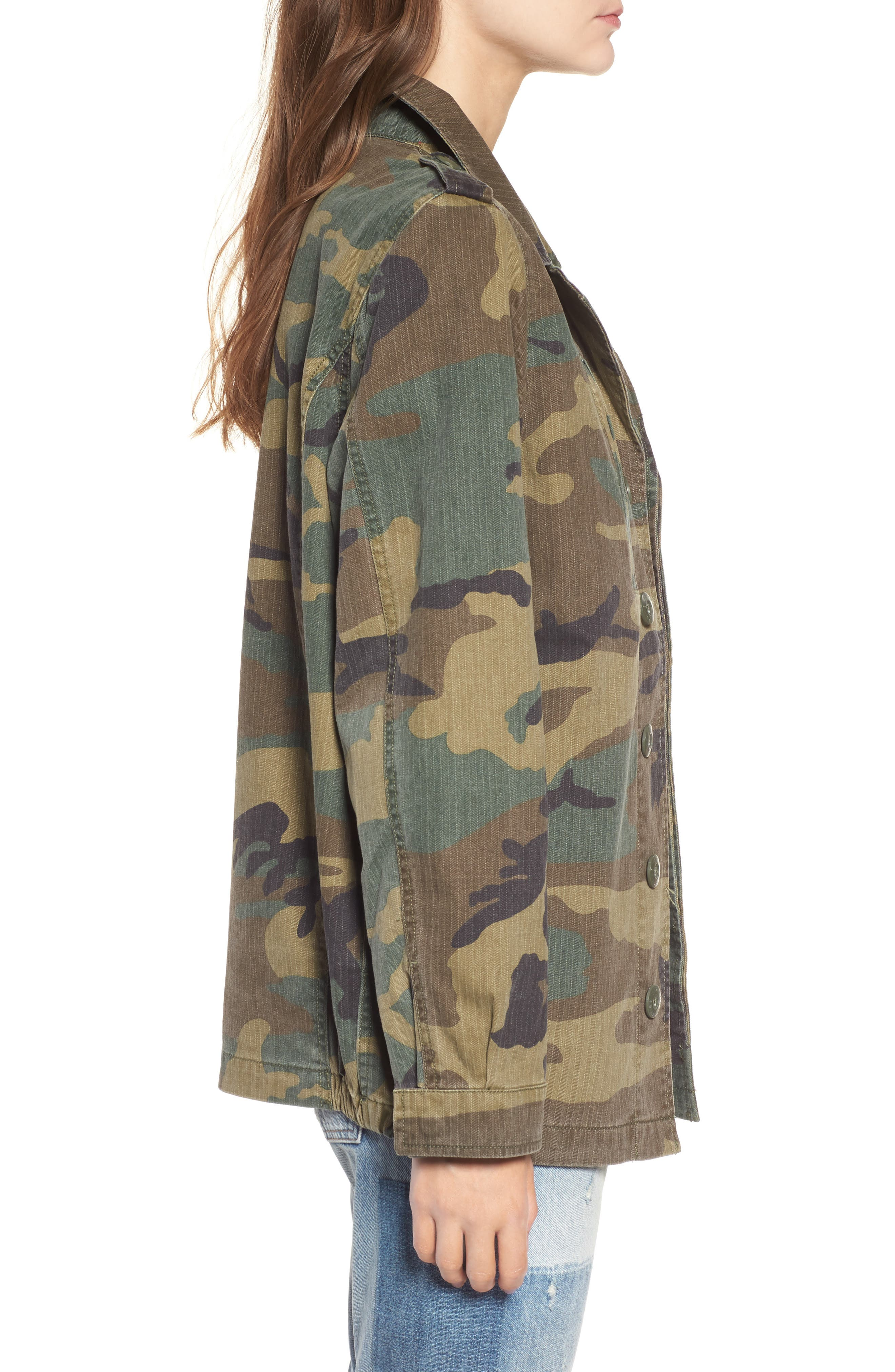 F-2 French Field Coat,                             Alternate thumbnail 3, color,                             361