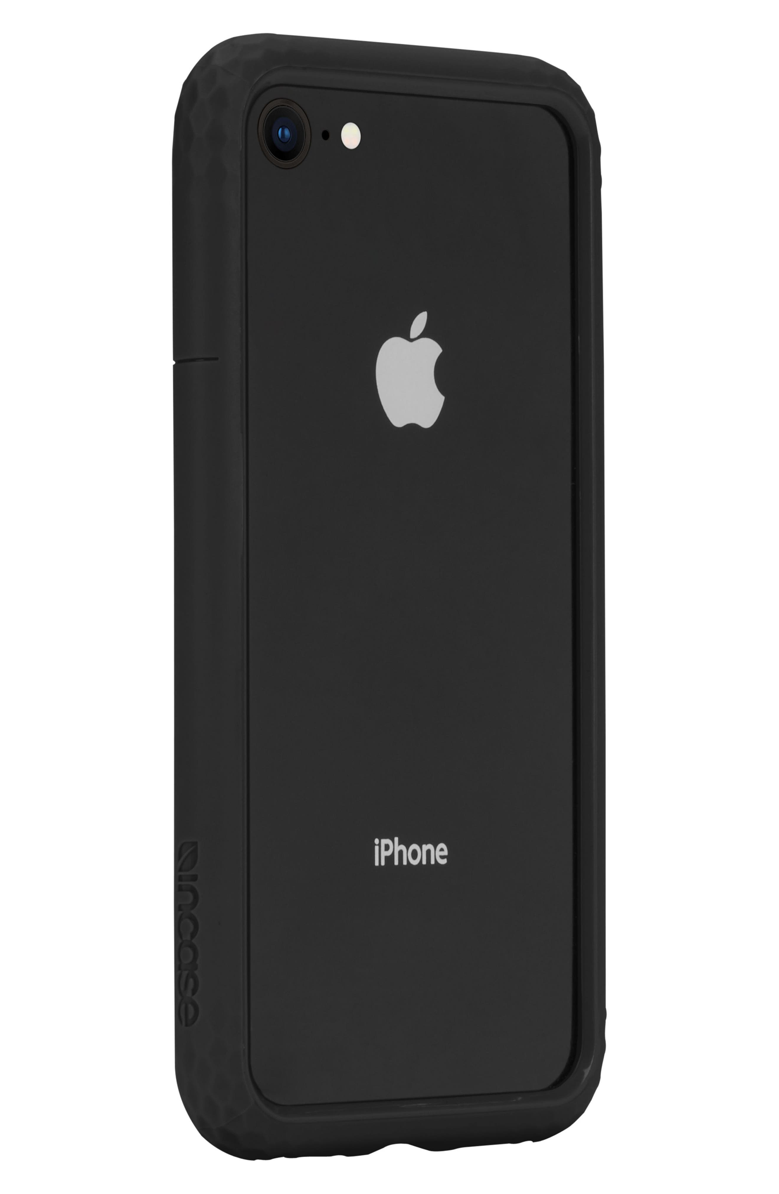 Frame iPhone 7/8 Case,                             Alternate thumbnail 6, color,                             BLACK
