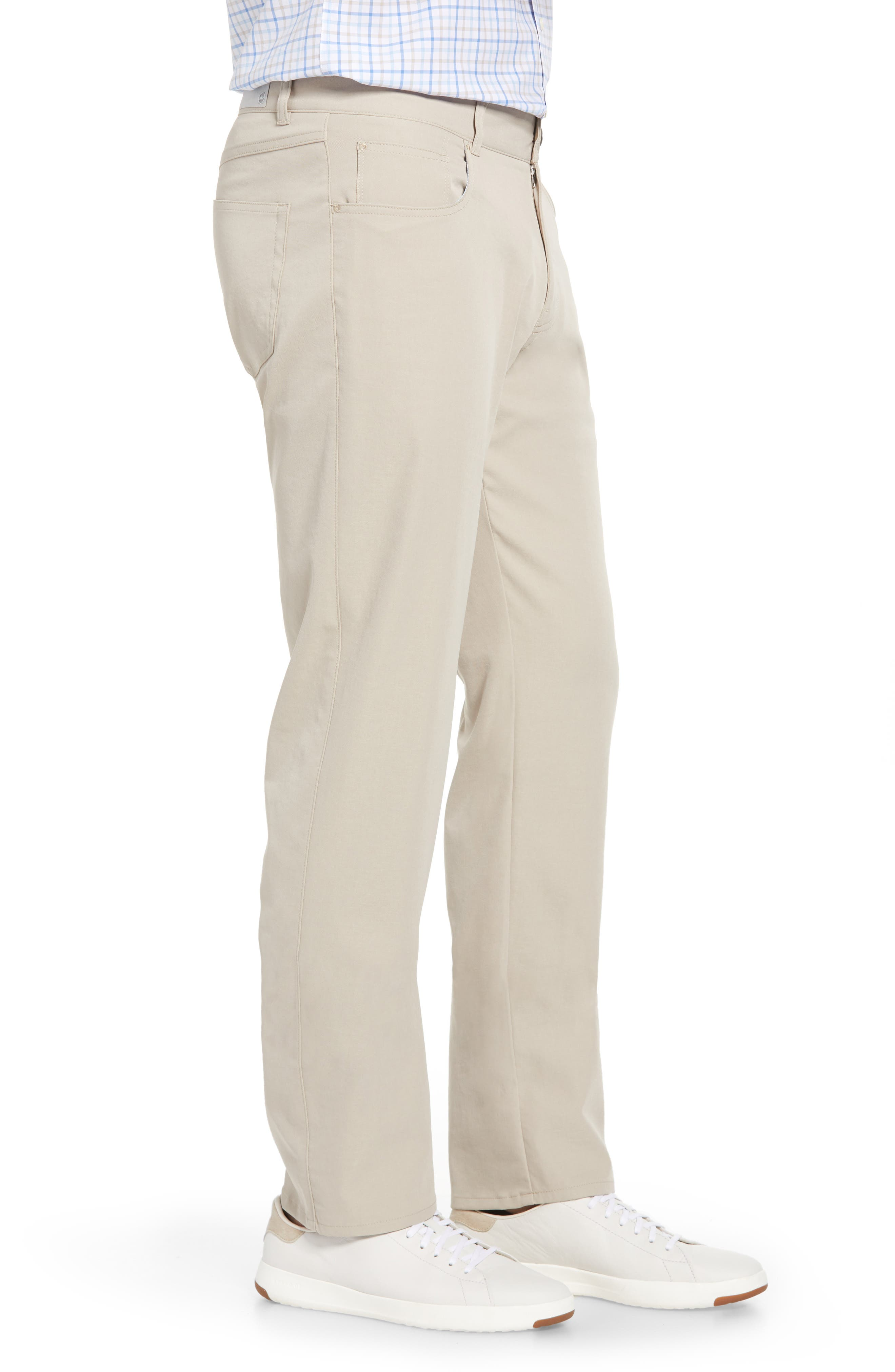 eb66 Regular Fit Performance Pants,                             Alternate thumbnail 3, color,                             BEIGE