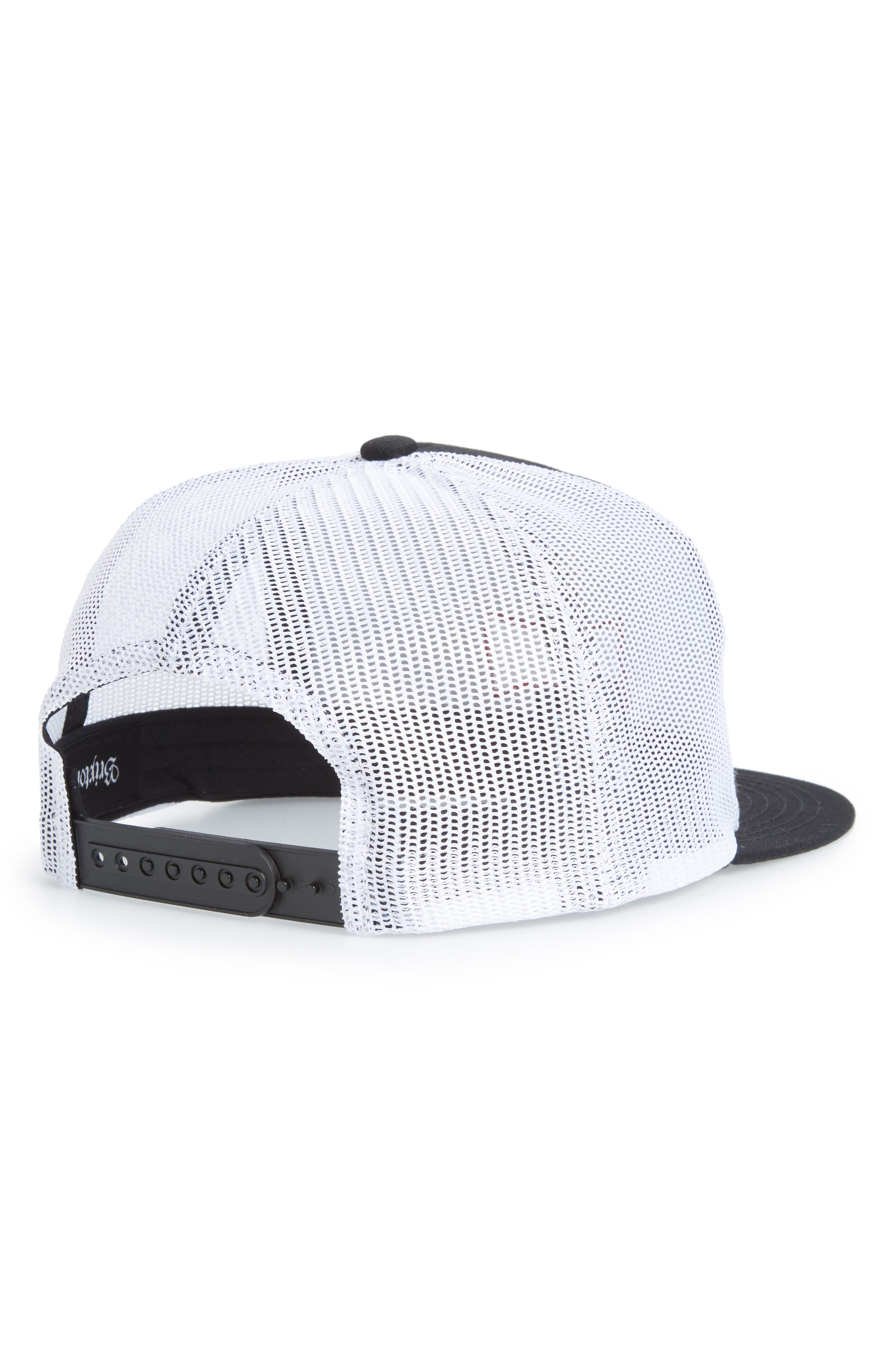 Mesh Back Cap,                             Alternate thumbnail 2, color,                             BLACK
