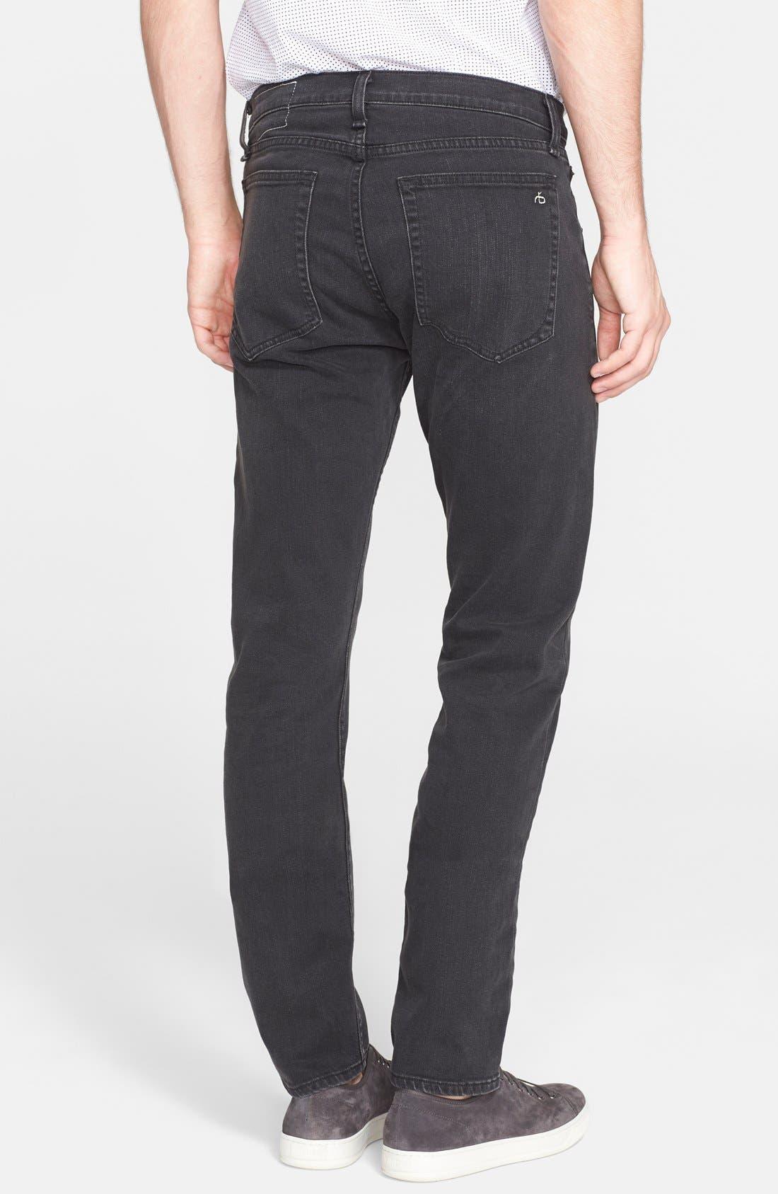 'Fit 2' Slim Fit Jeans,                             Alternate thumbnail 4, color,                             009