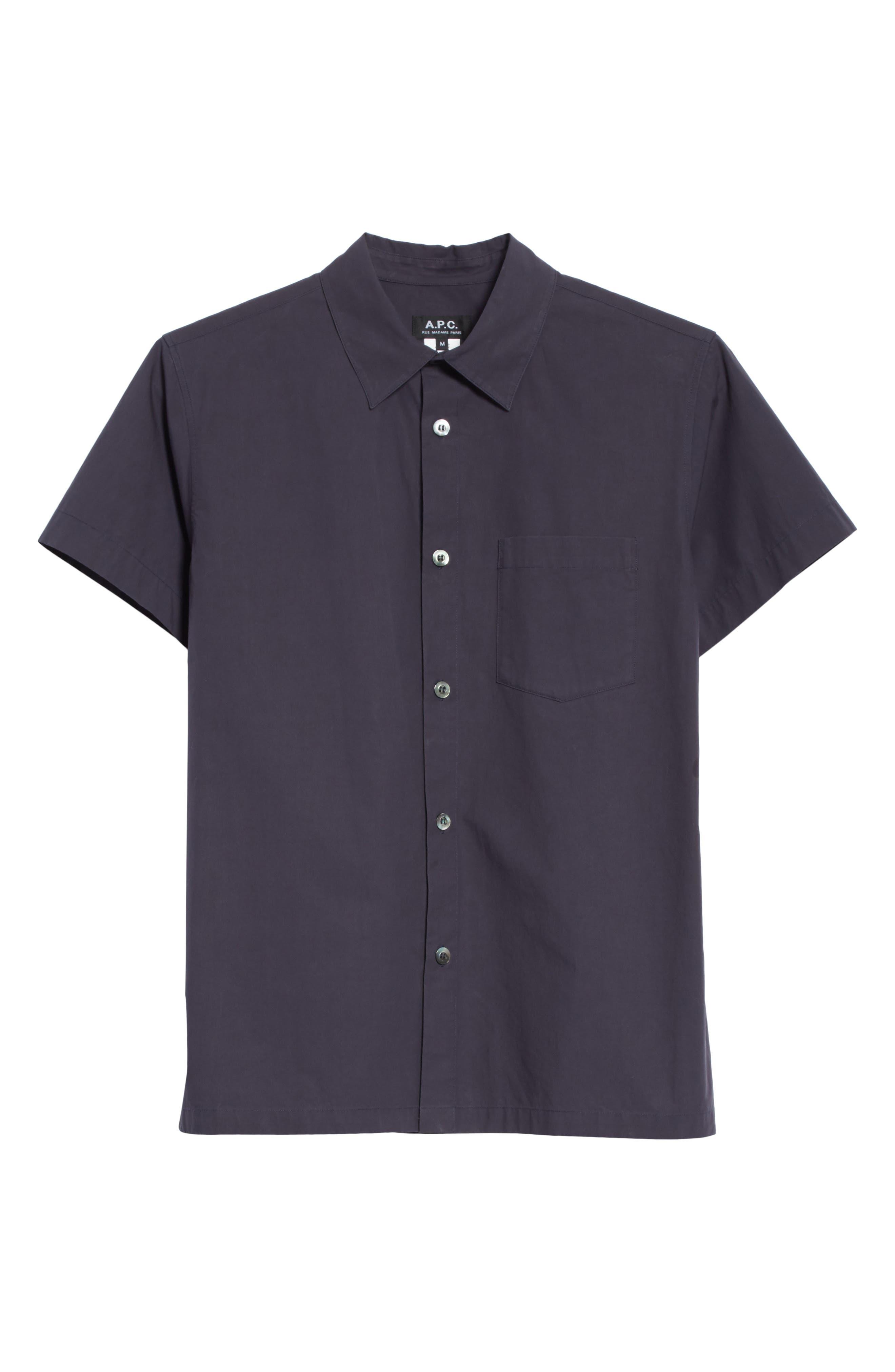 Cippi Poplin Woven Shirt,                             Alternate thumbnail 6, color,                             410