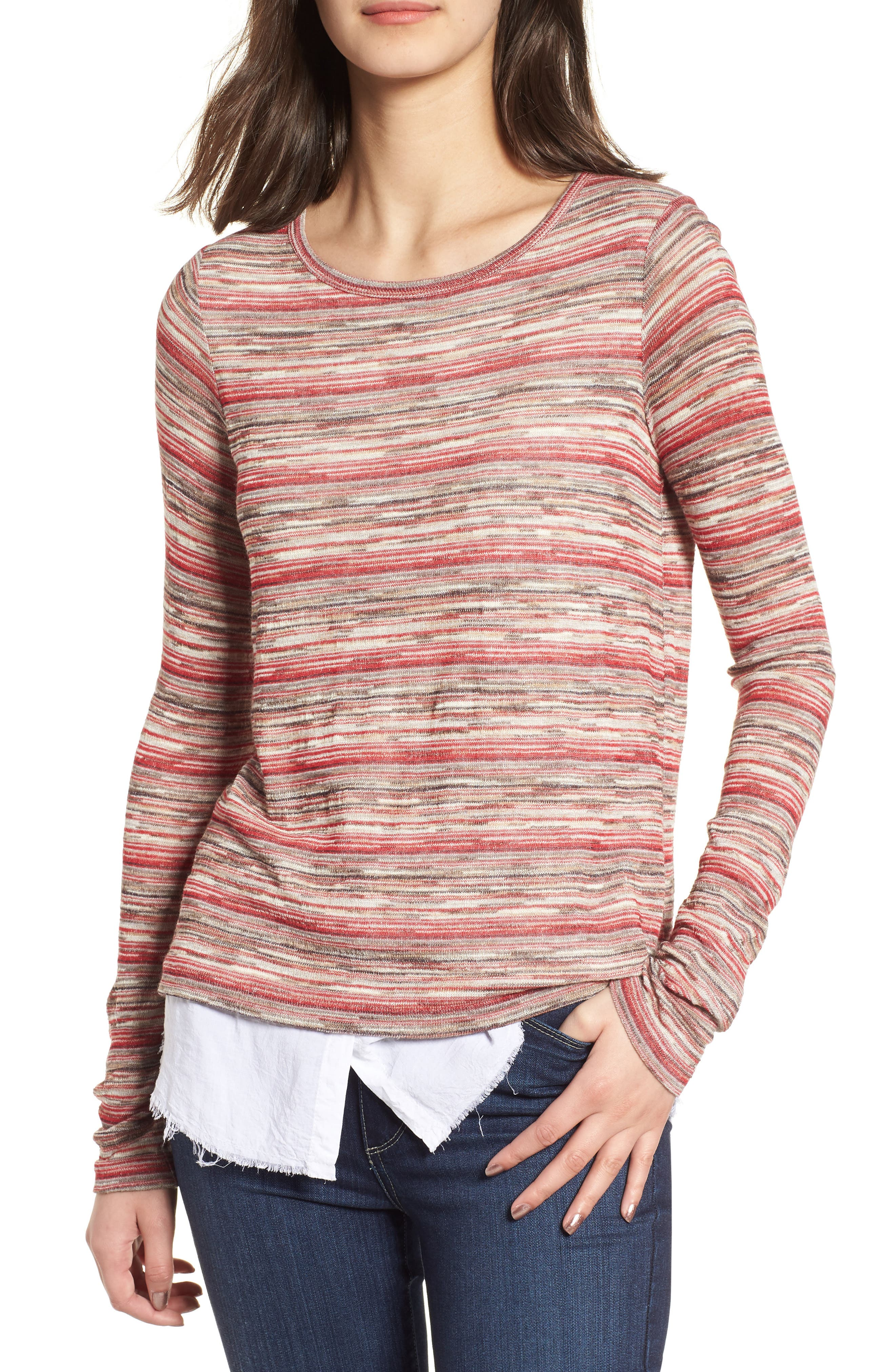 Shoot from the Hip Layer Look Sweater,                         Main,                         color, 700