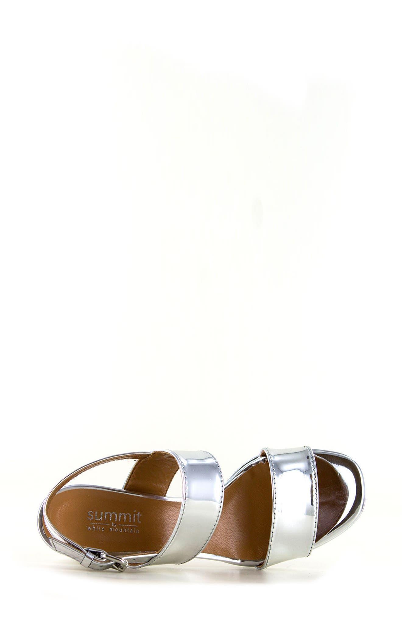 Summit Emilia Block Heel Sandal,                             Alternate thumbnail 8, color,