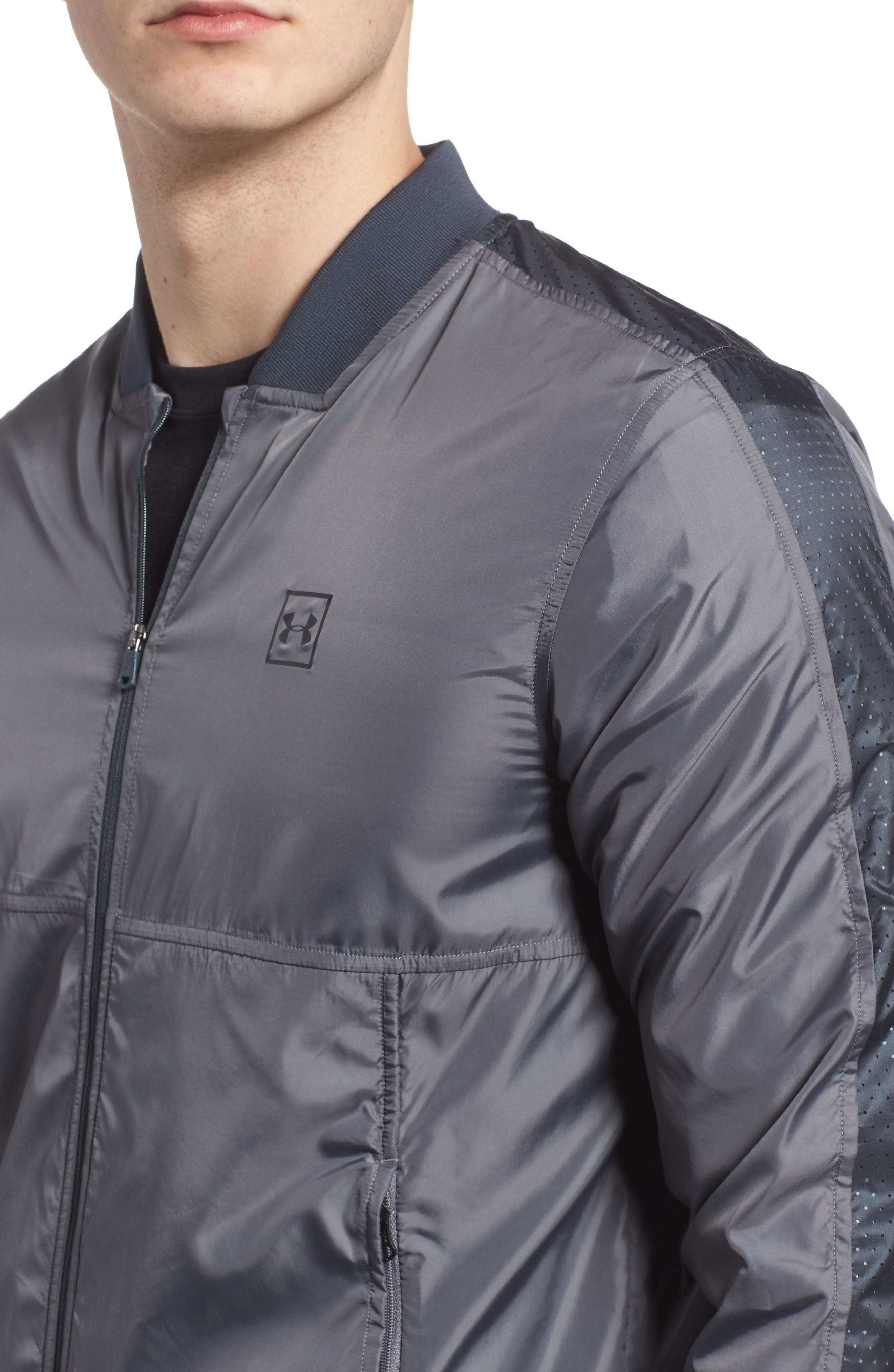 Sportstyle Wind Bomber Jacket,                             Alternate thumbnail 4, color,                             030