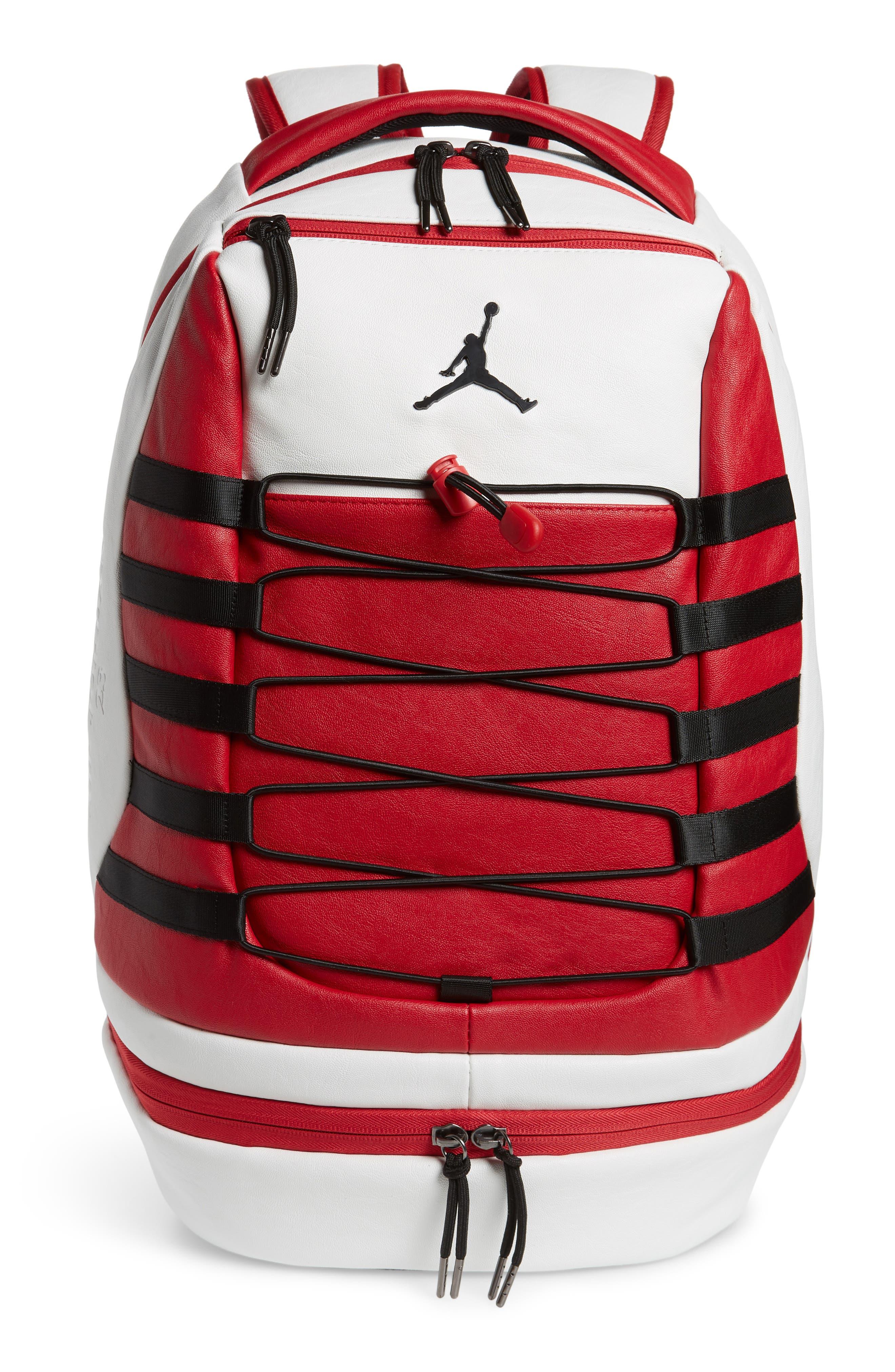 Boys Jordan Retro 10 Backpack  White