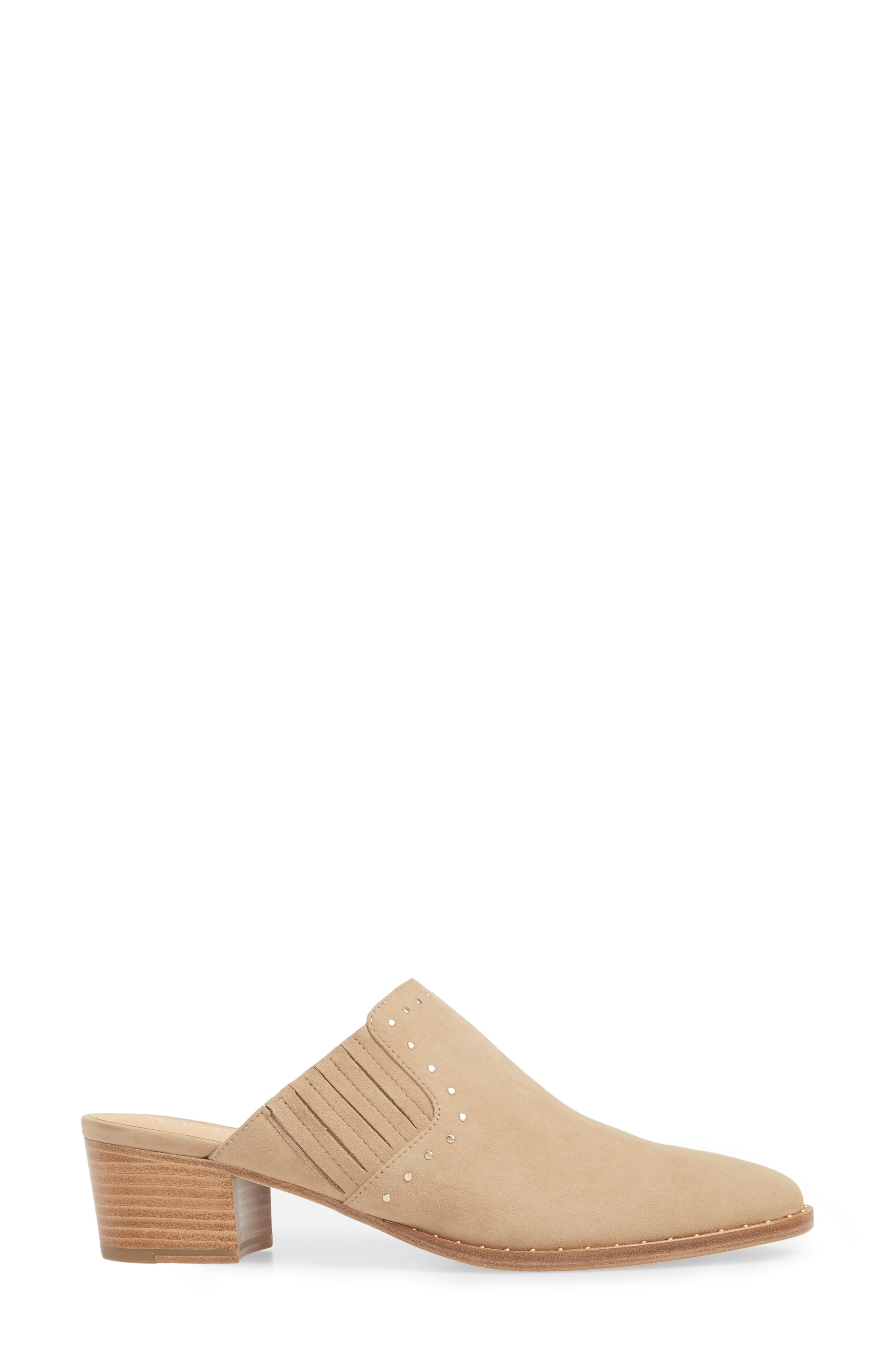 Fayla Studded Mule,                             Alternate thumbnail 3, color,                             SAND