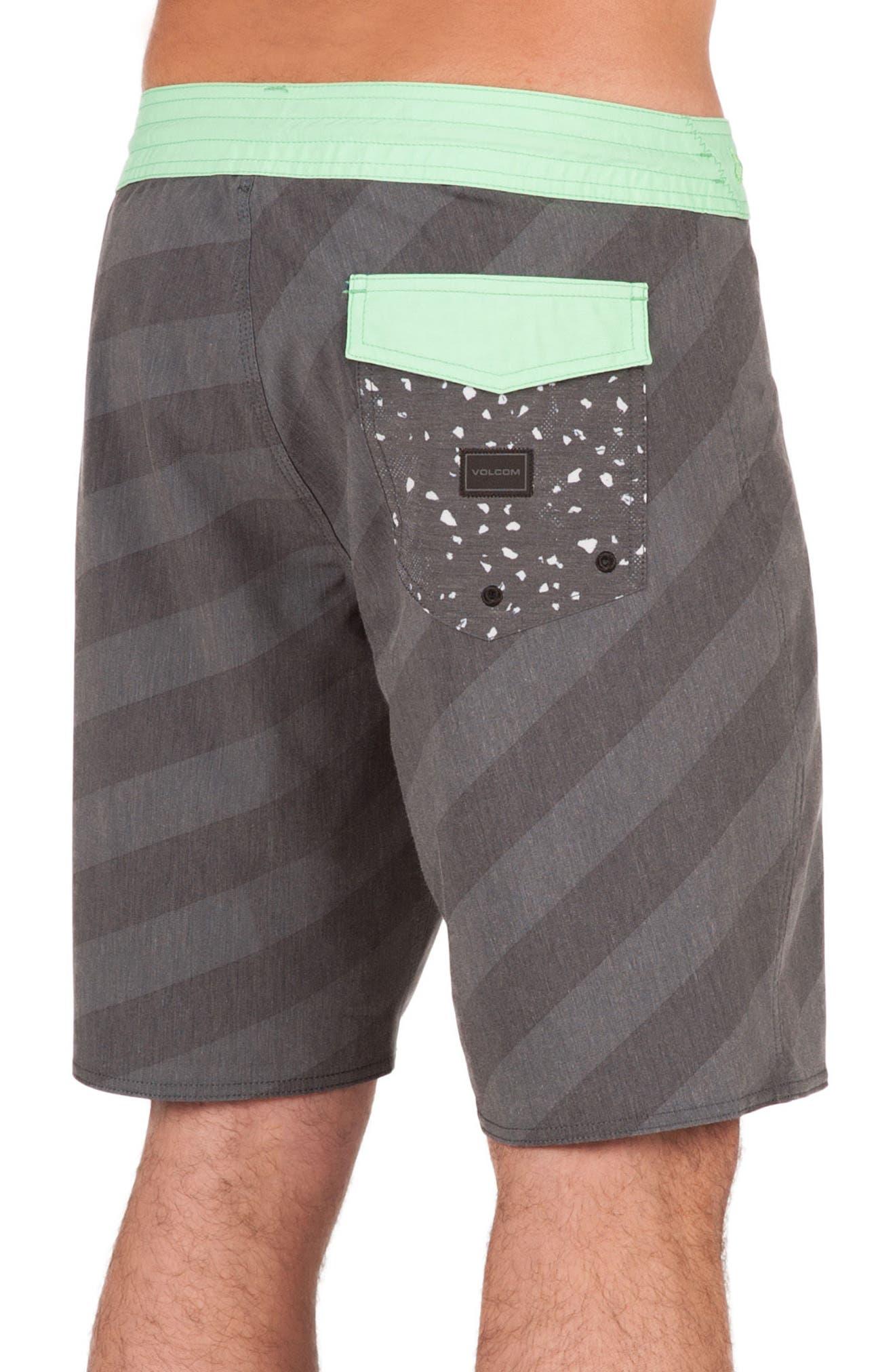 Stripey Slinger Board Shorts,                             Alternate thumbnail 11, color,