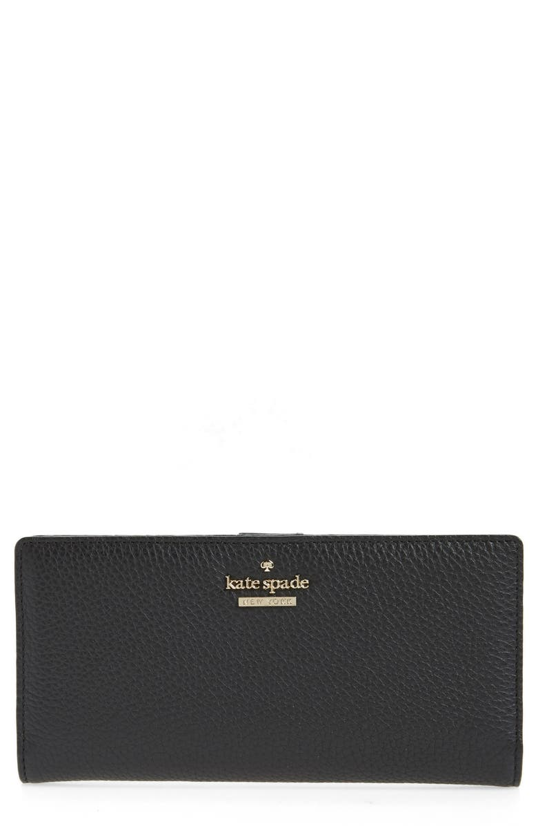 e75f03026e9b5 kate spade new york large jackson street - stacy leather wallet ...
