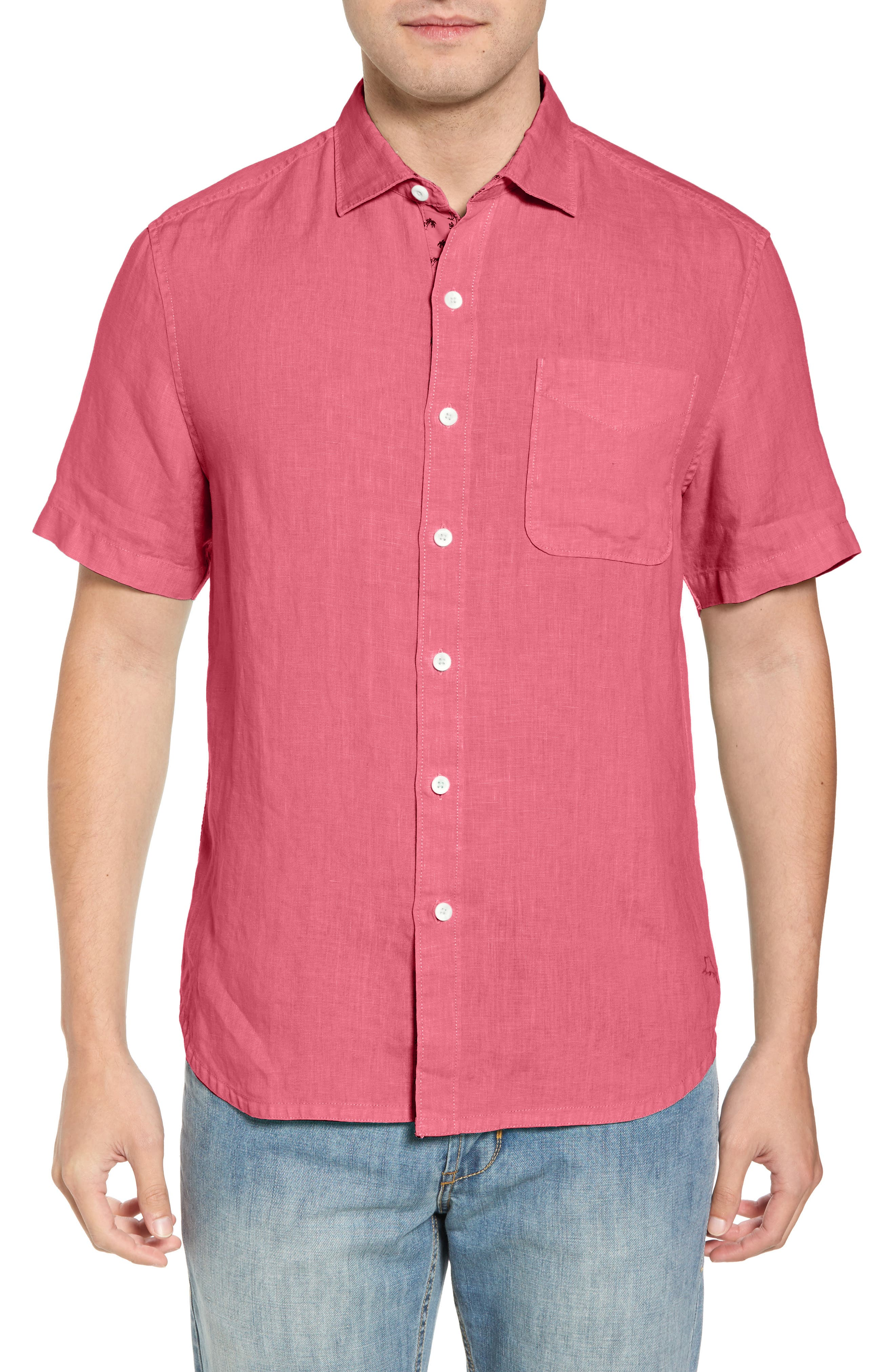Seaspray Breezer Regular Fit Linen Sport Shirt,                             Main thumbnail 9, color,