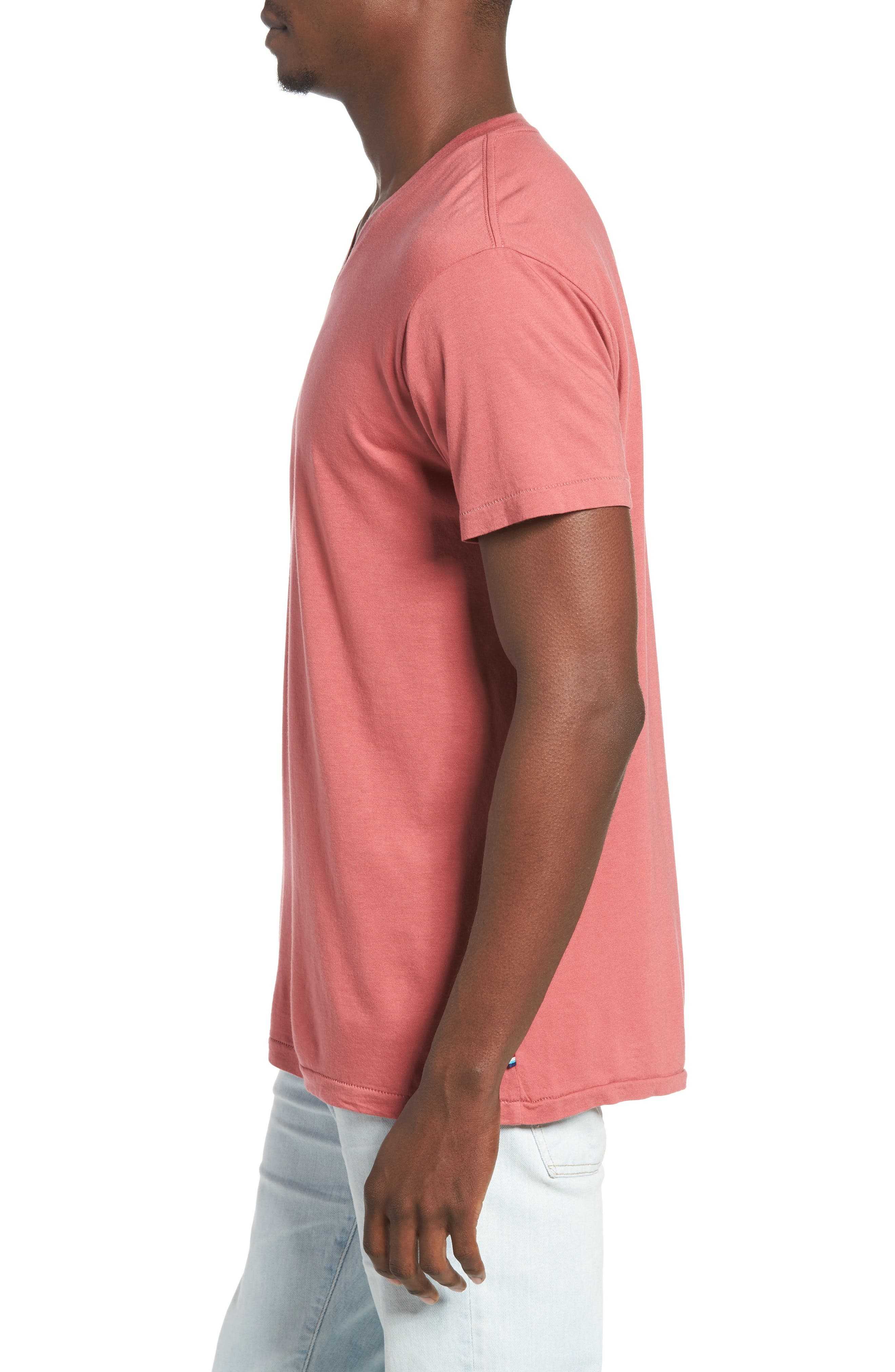 Essential V-Neck T-Shirt,                             Alternate thumbnail 30, color,