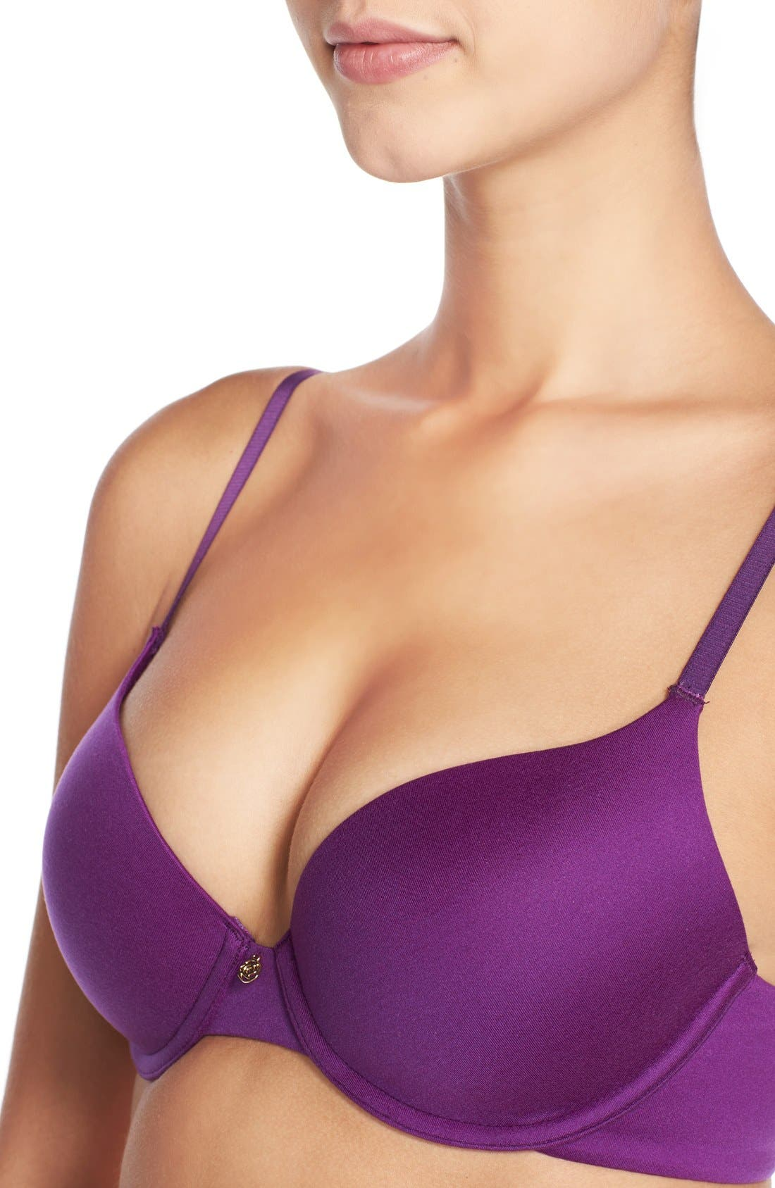 'Forever Perfect' Underwire Demi Bra,                             Alternate thumbnail 210, color,
