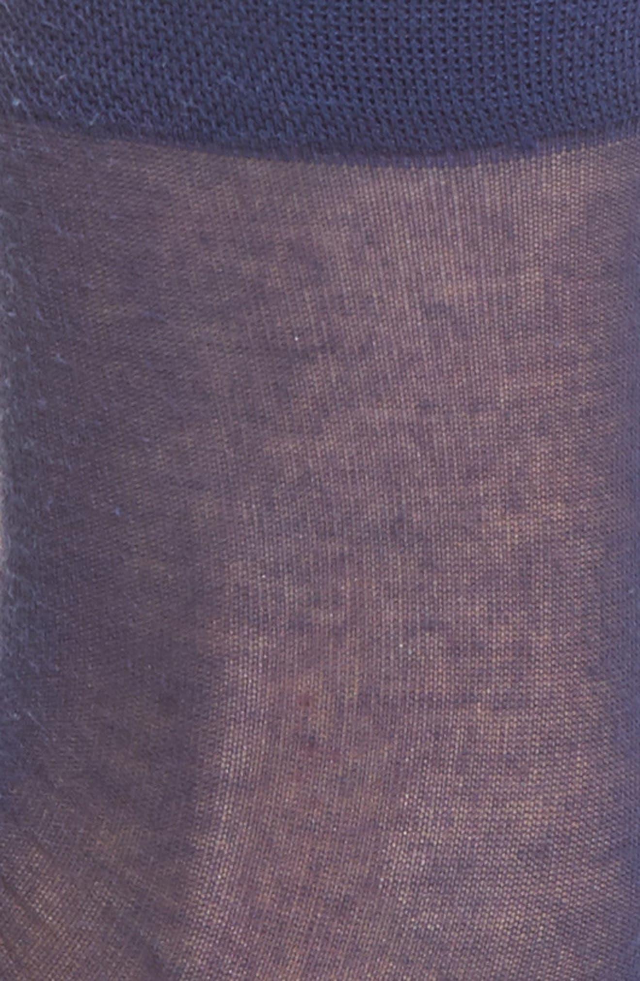 Sheer Crew Socks,                             Alternate thumbnail 2, color,                             411