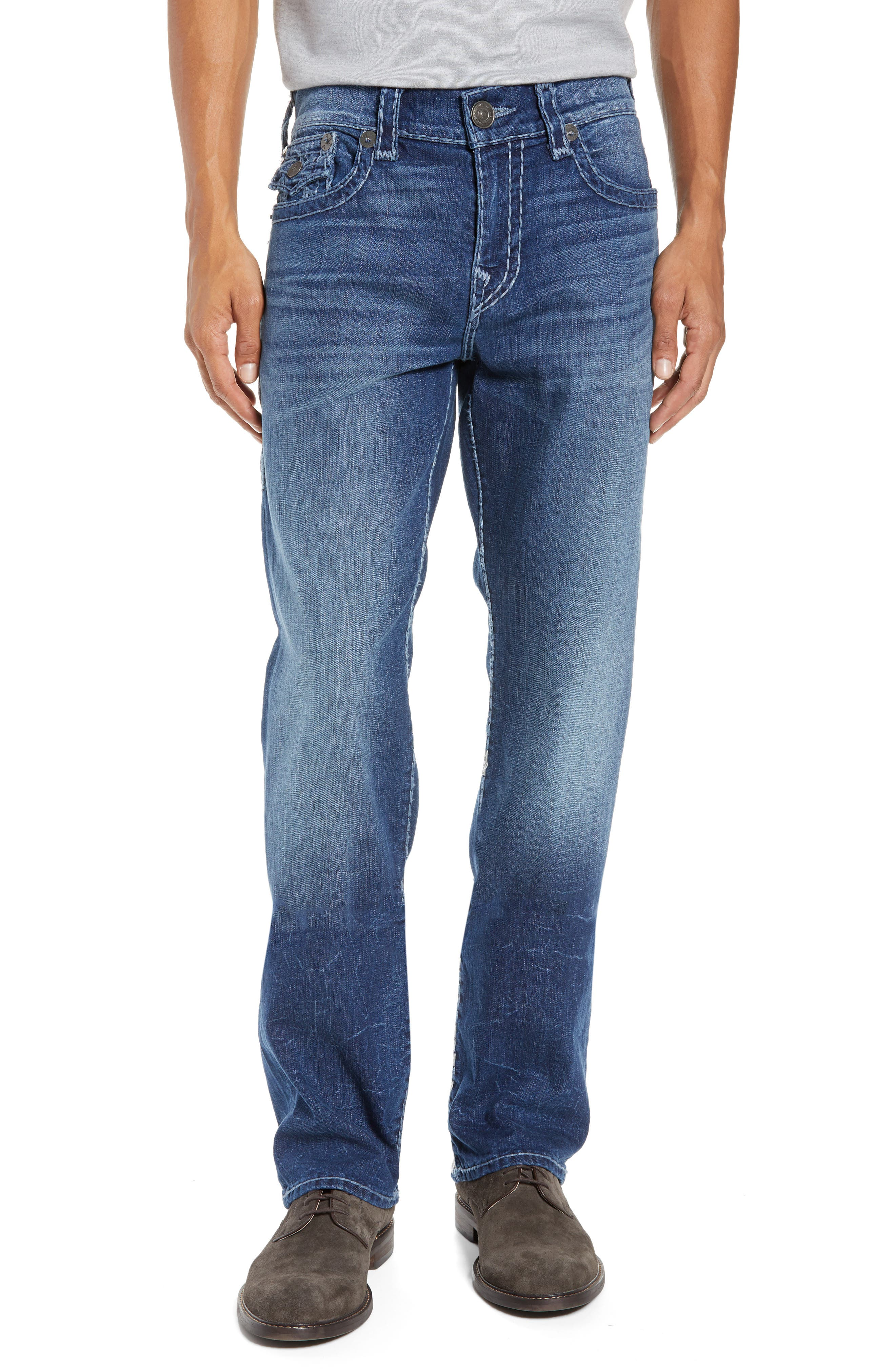 Ricky Relaxed Fit Jeans,                             Main thumbnail 1, color,                             HIGH FREQUENCY