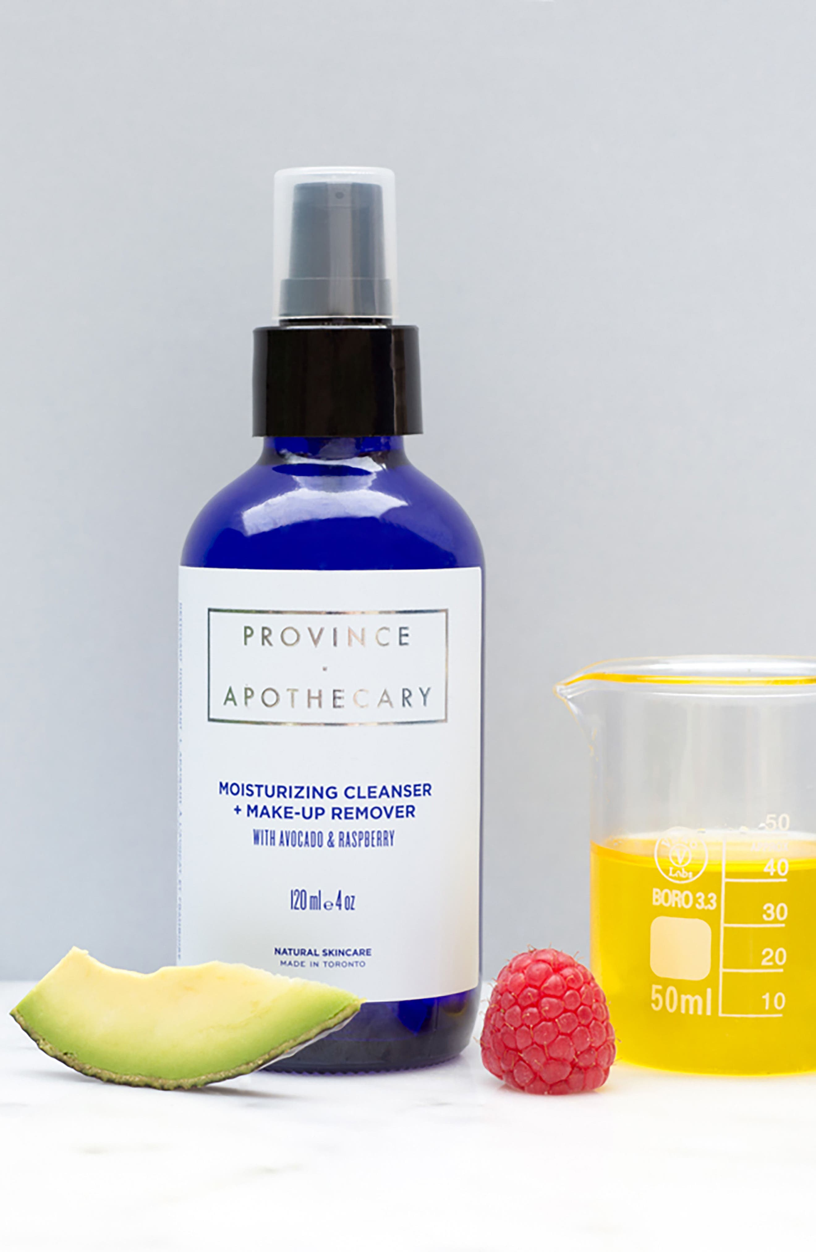 PROVINCE APOTHECARY,                             Moisturizing Cleanser & Makeup Remover,                             Alternate thumbnail 2, color,                             AVACADO/ RASPBERRY