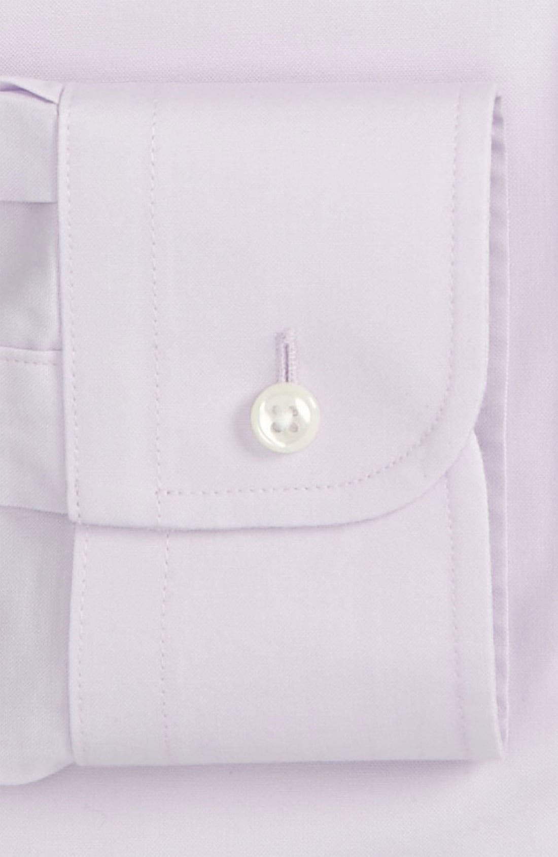 Smartcare<sup>™</sup> Traditional Fit Pinpoint Dress Shirt,                             Alternate thumbnail 61, color,