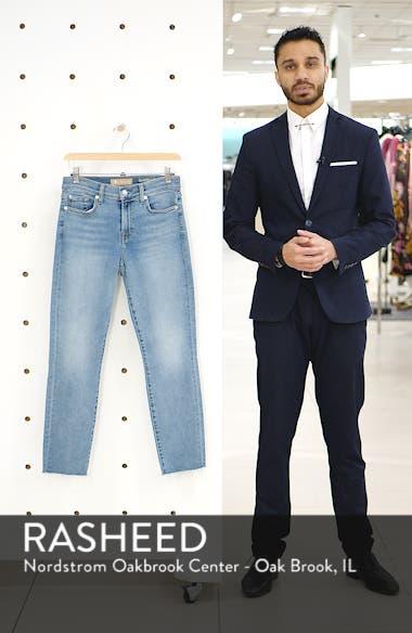 Roxanne Raw Hem Ankle Slim Jeans, sales video thumbnail