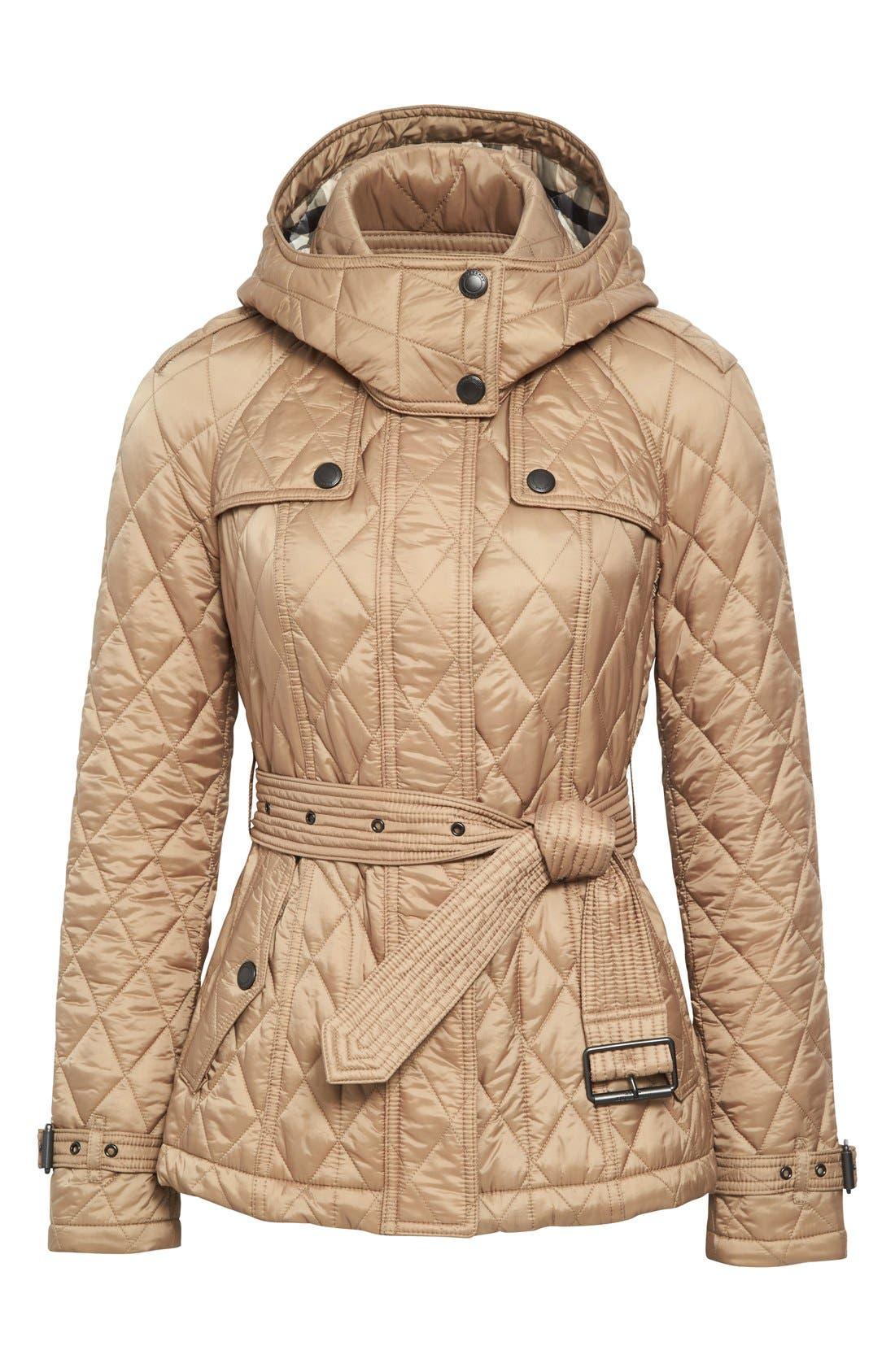 Finsbridge ShortQuilted Jacket,                             Alternate thumbnail 13, color,
