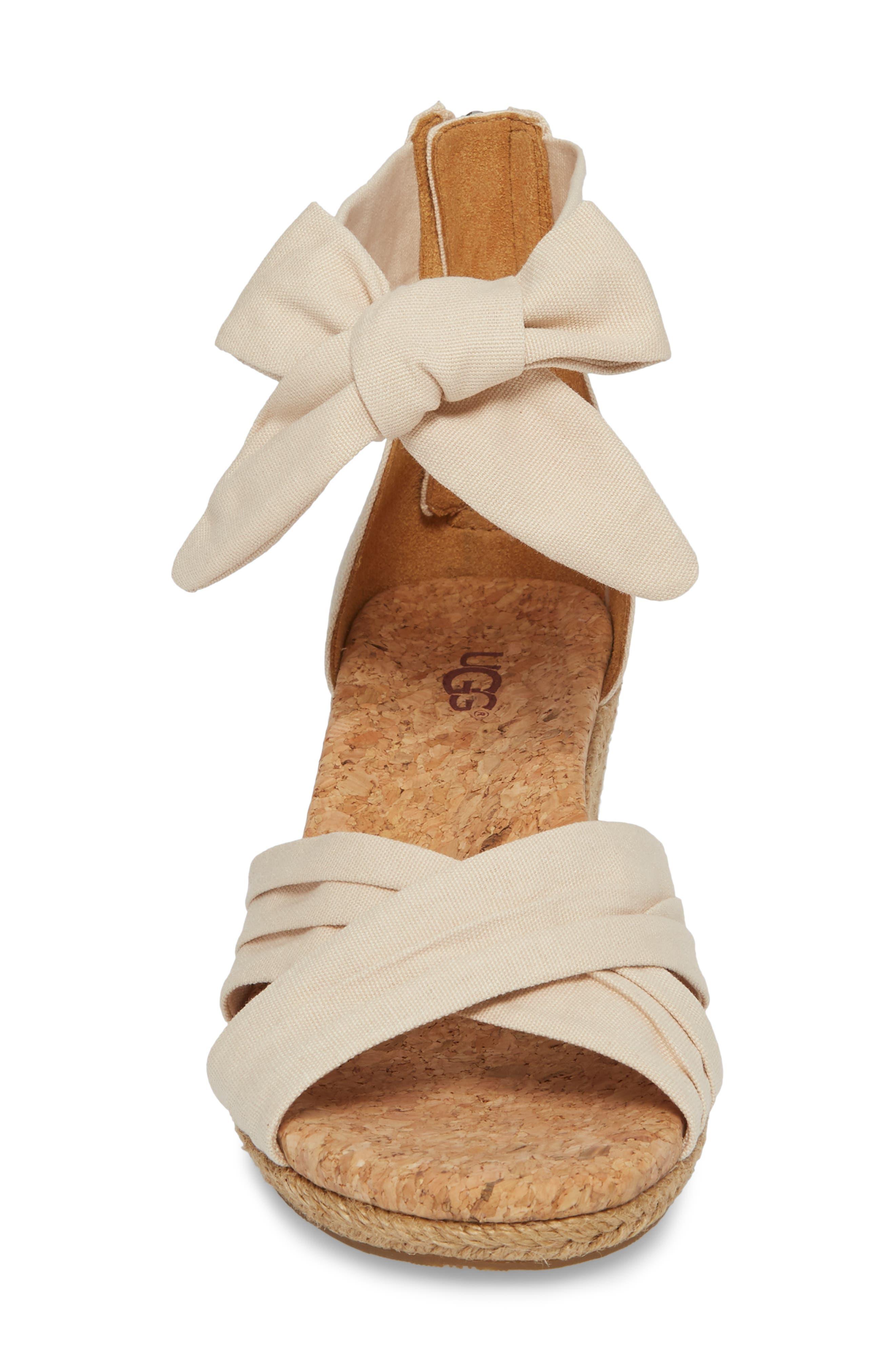 Traci Espadrille Wedge Sandal,                             Alternate thumbnail 11, color,