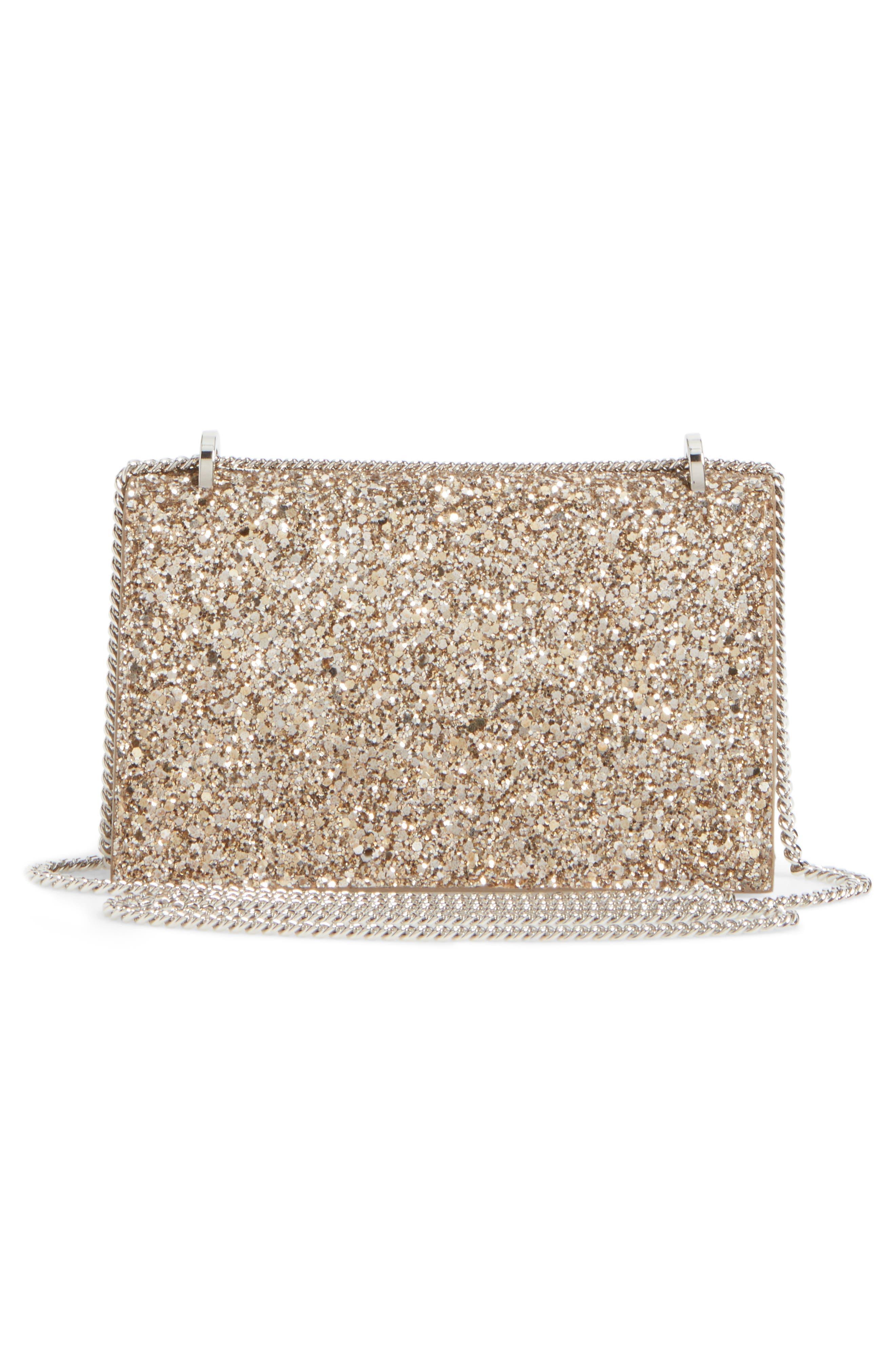 Finley Shadow Glitter Shoulder Bag,                             Alternate thumbnail 3, color,                             710