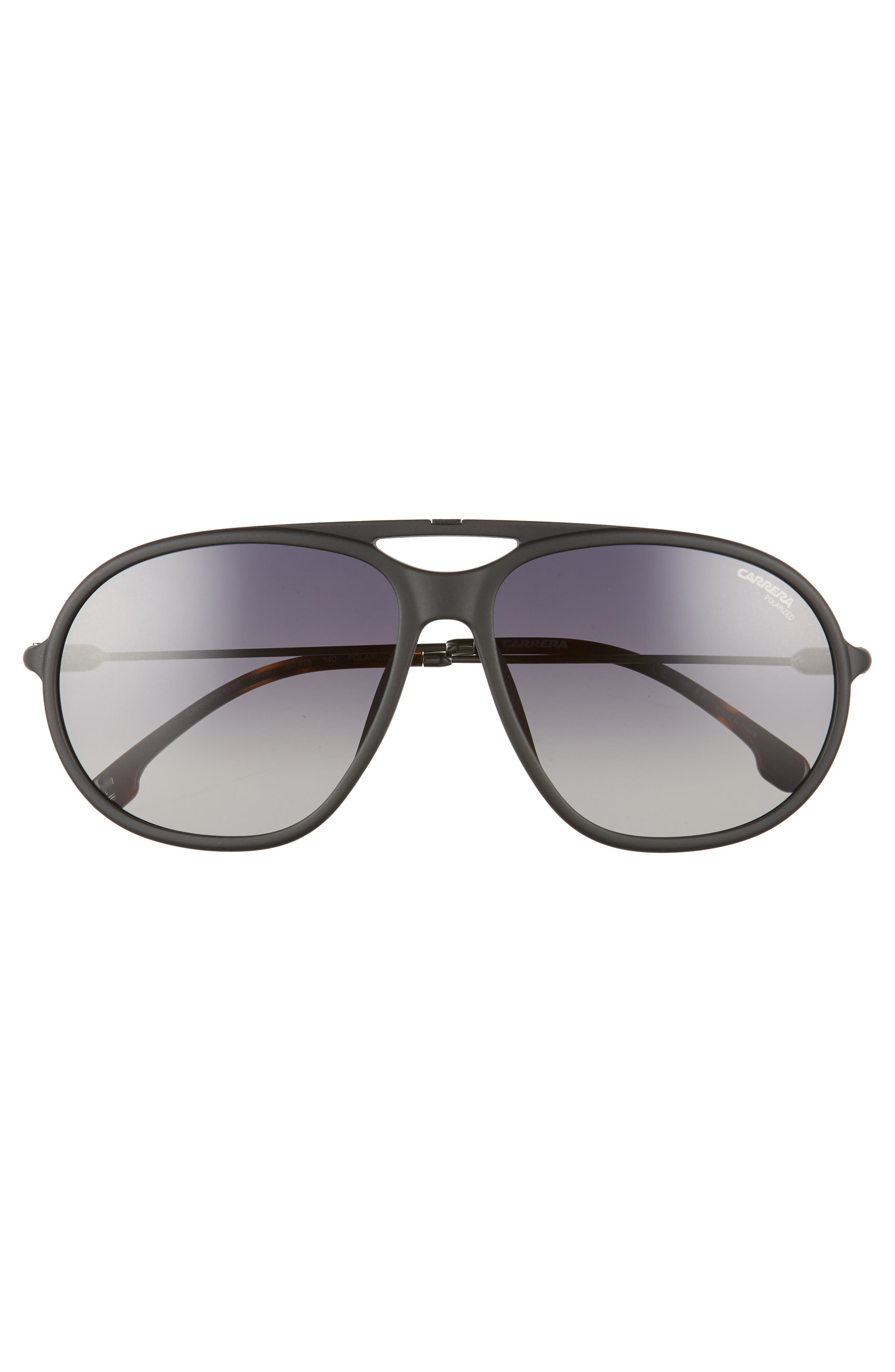 60mm Polarized Aviator Sunglasses,                             Alternate thumbnail 2, color,