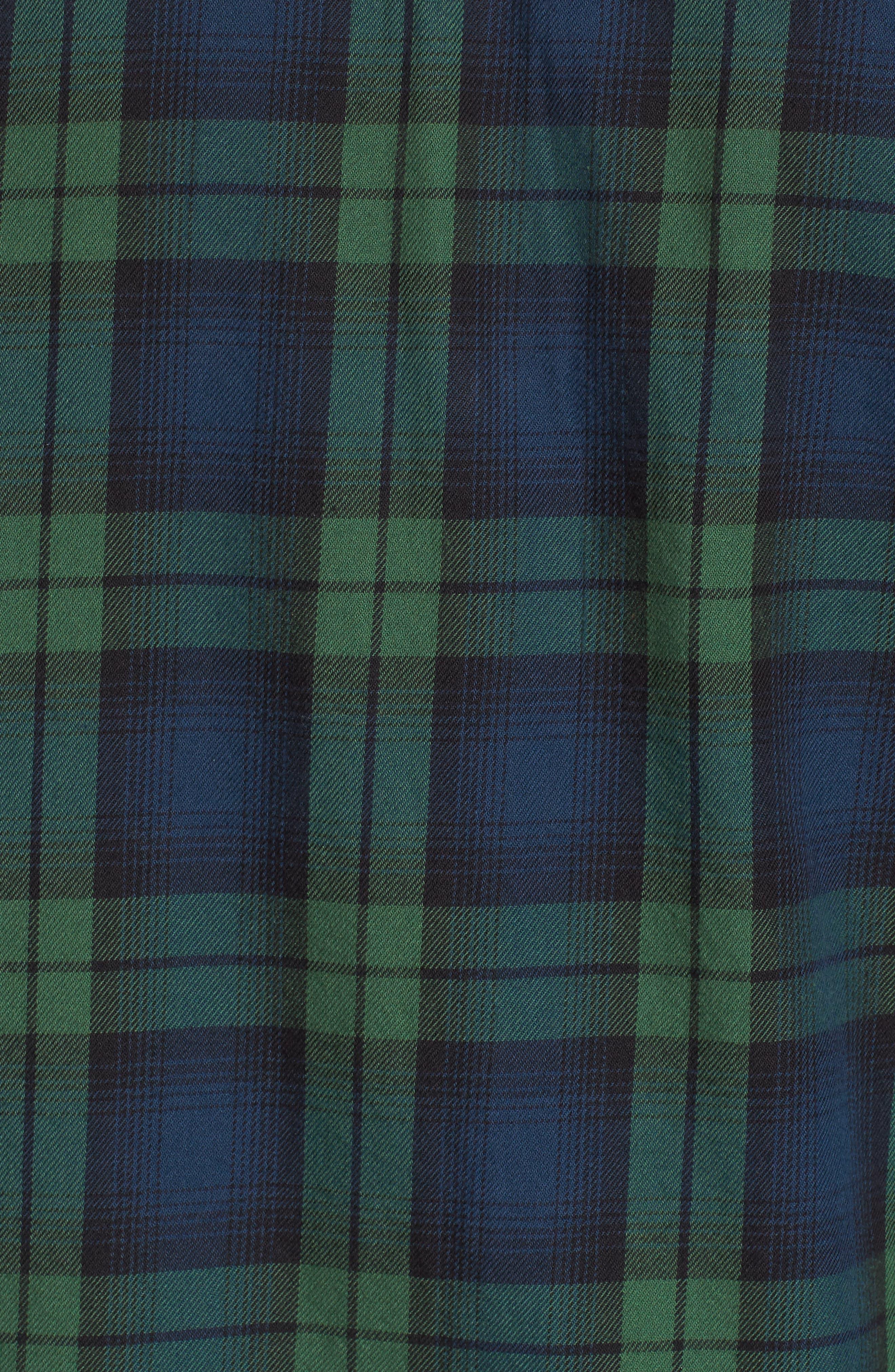 Norwich Plaid Woven Shirt,                             Alternate thumbnail 5, color,                             303