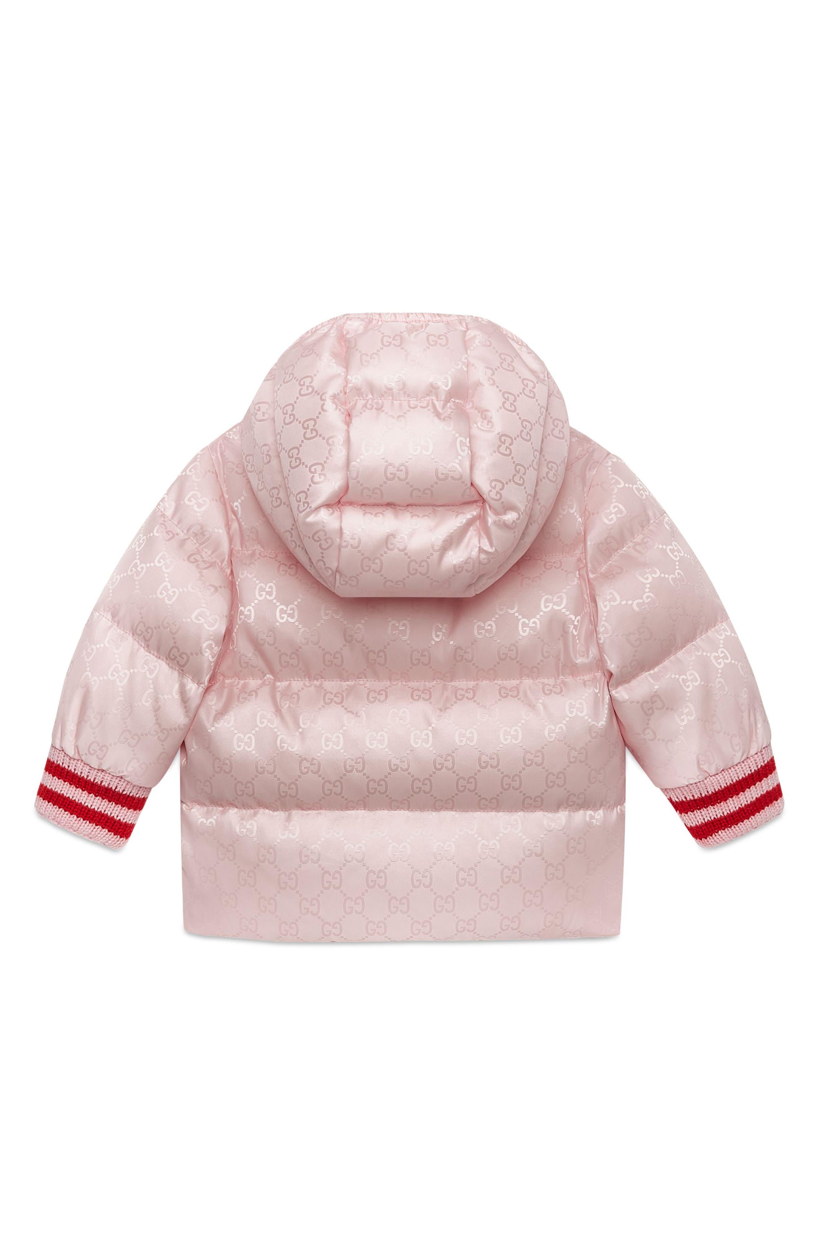 Reversible GG Jacquard Water-Resistant Down Jacket,                             Alternate thumbnail 2, color,                             667