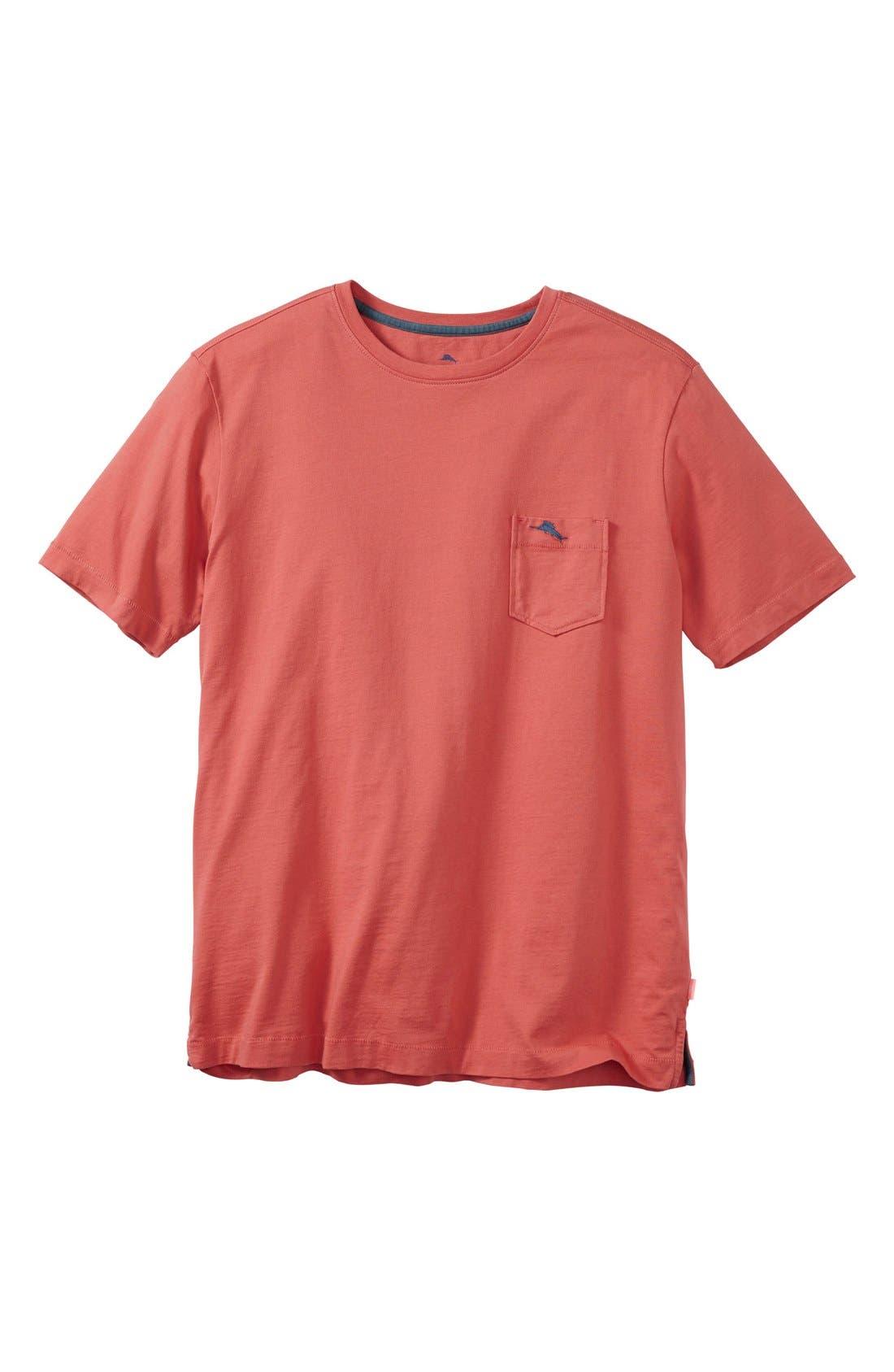 New Bali Sky Pima Cotton Pocket T-Shirt,                             Main thumbnail 58, color,