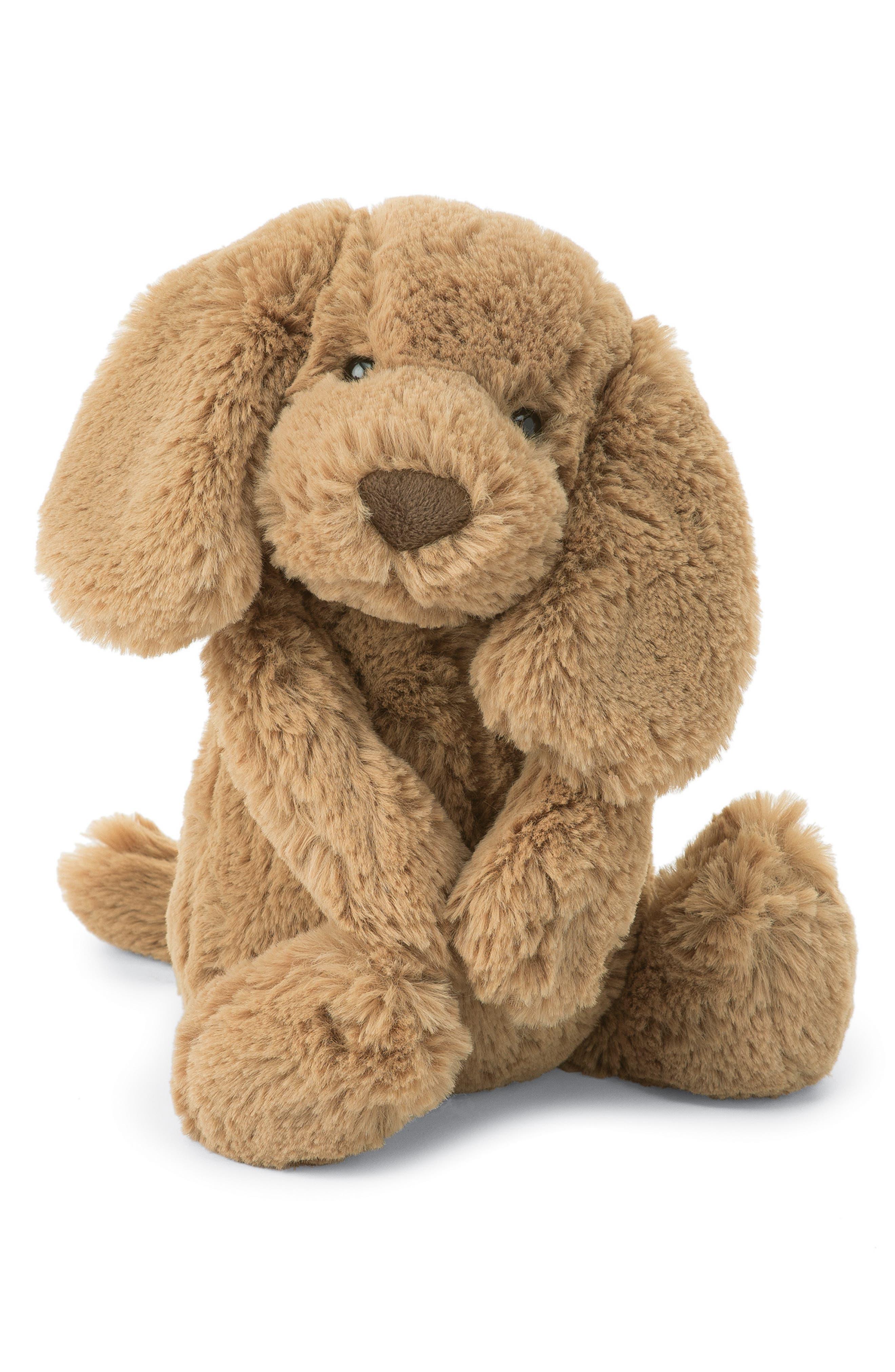 'Bashful' Puppy Stuffed Animal,                             Main thumbnail 1, color,