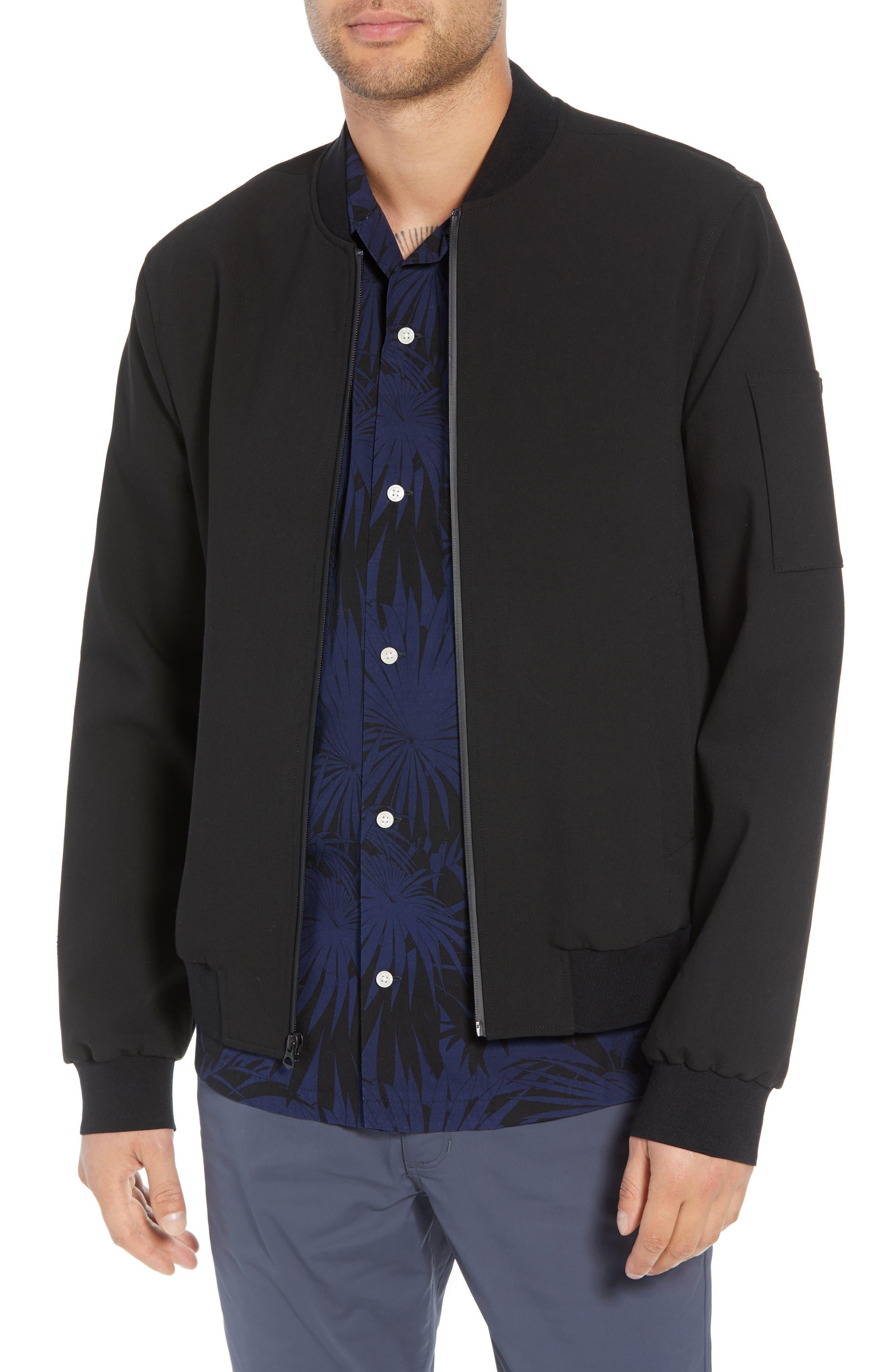 Regular Fit Bomber Jacket,                         Main,                         color, 001
