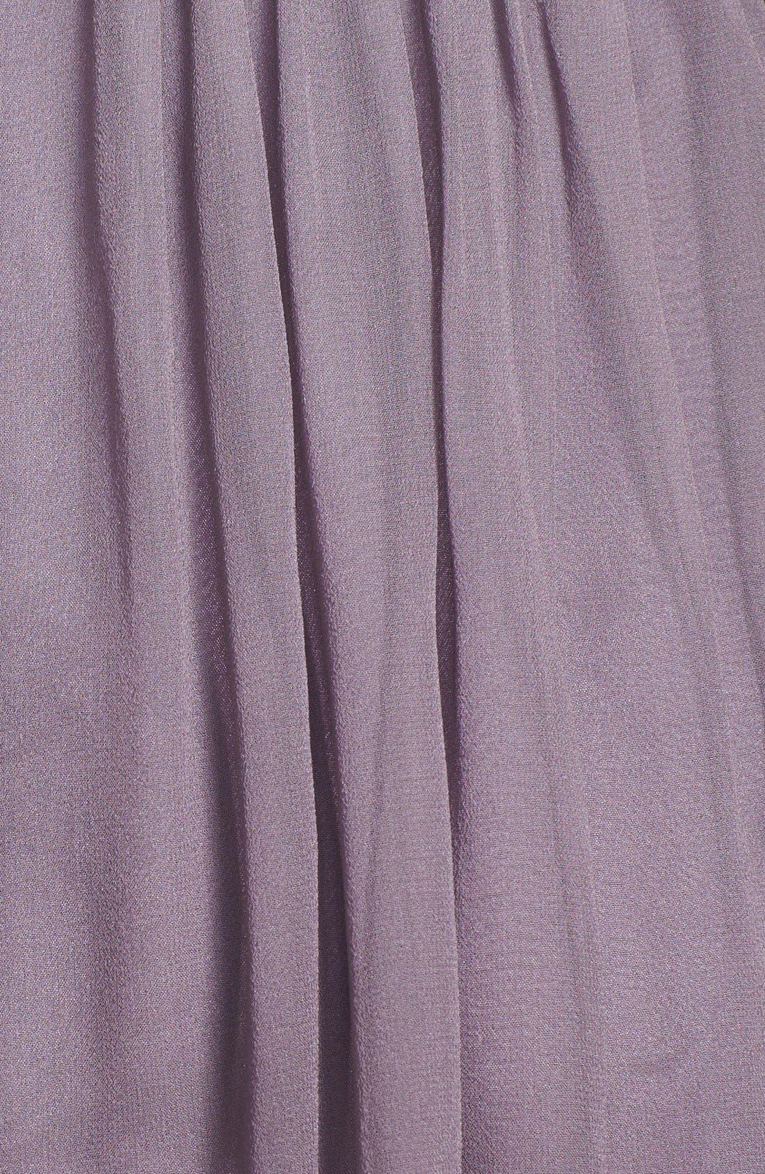 'Morgan' Strapless Silk Chiffon Dress,                             Alternate thumbnail 102, color,