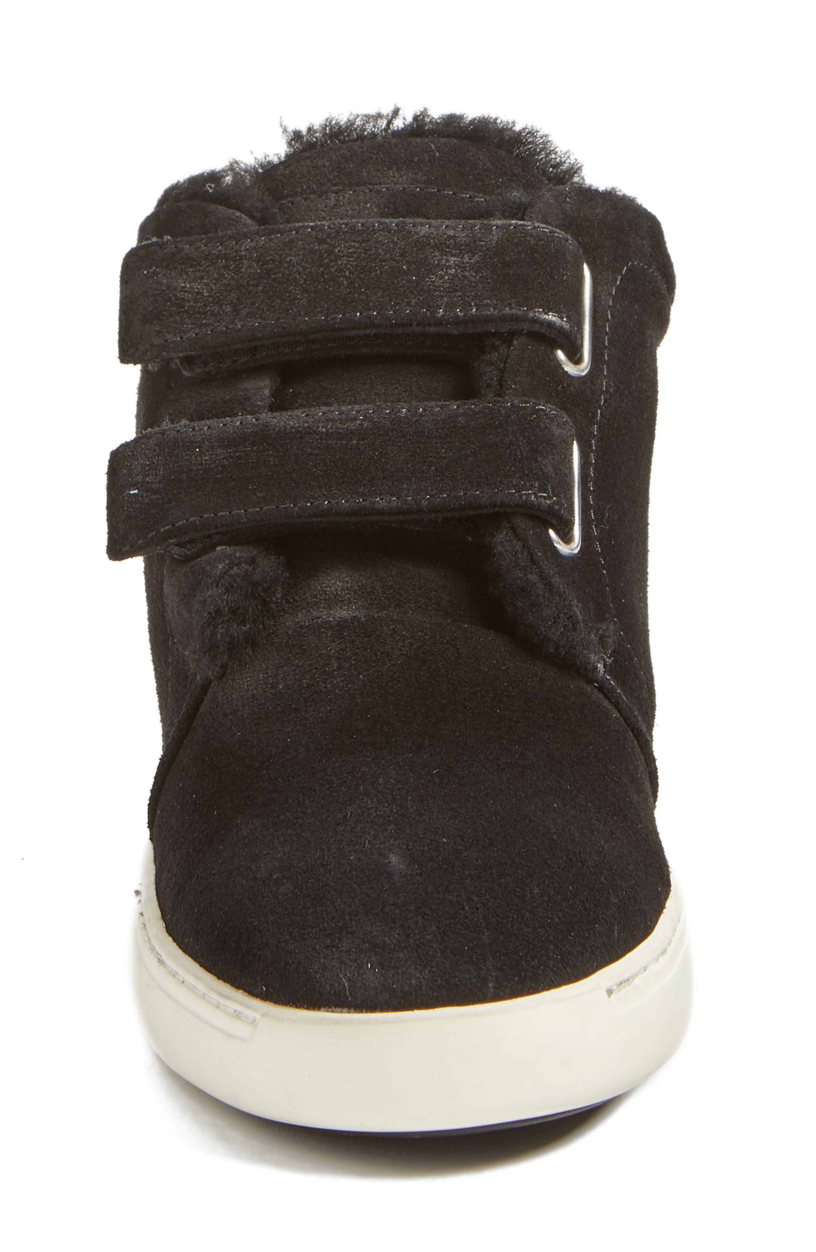 Kent Genuine Shearling Lined Sneaker,                             Alternate thumbnail 4, color,                             008
