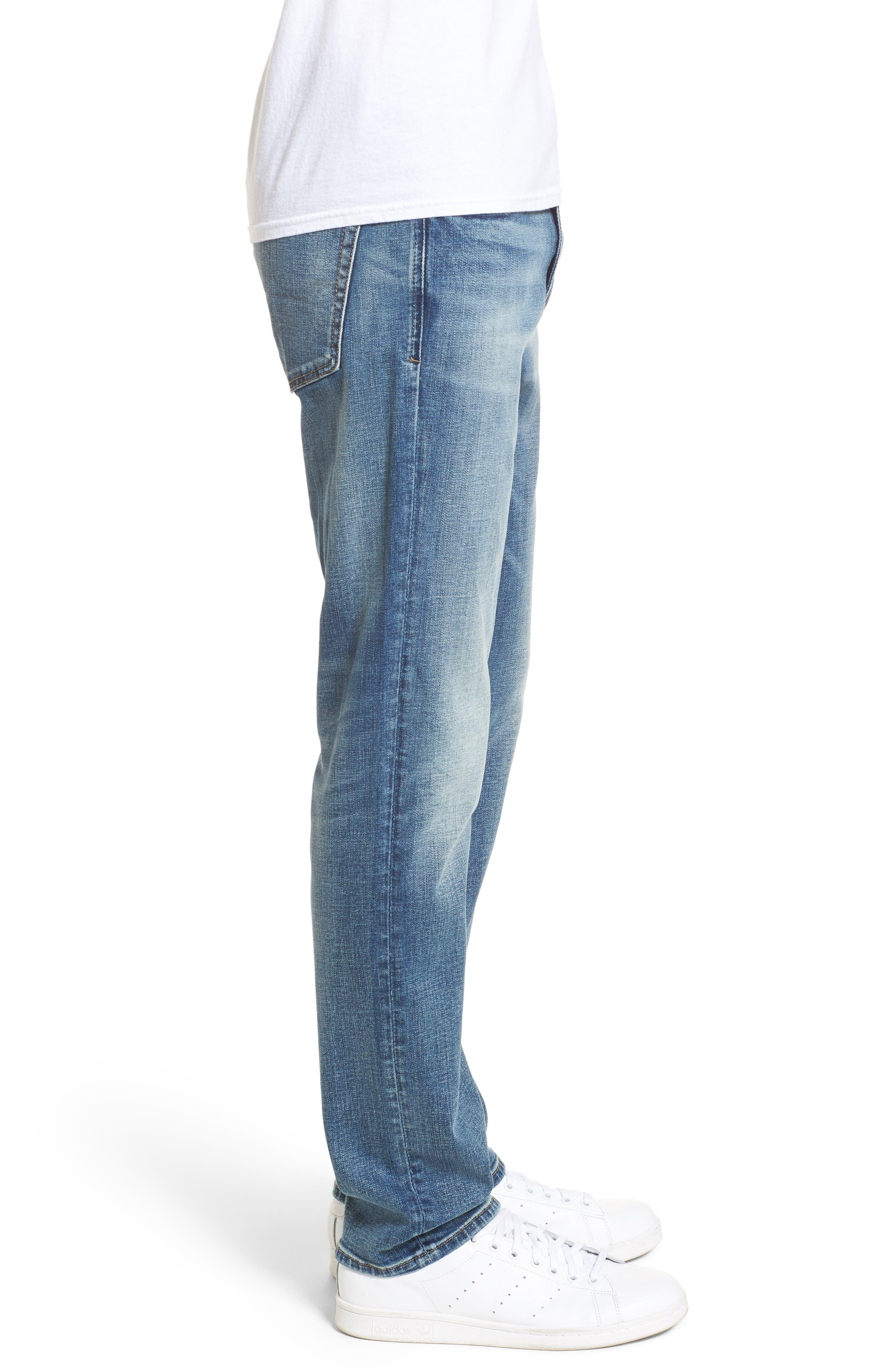 Wooster Slim Fit Jeans,                             Alternate thumbnail 3, color,                             400