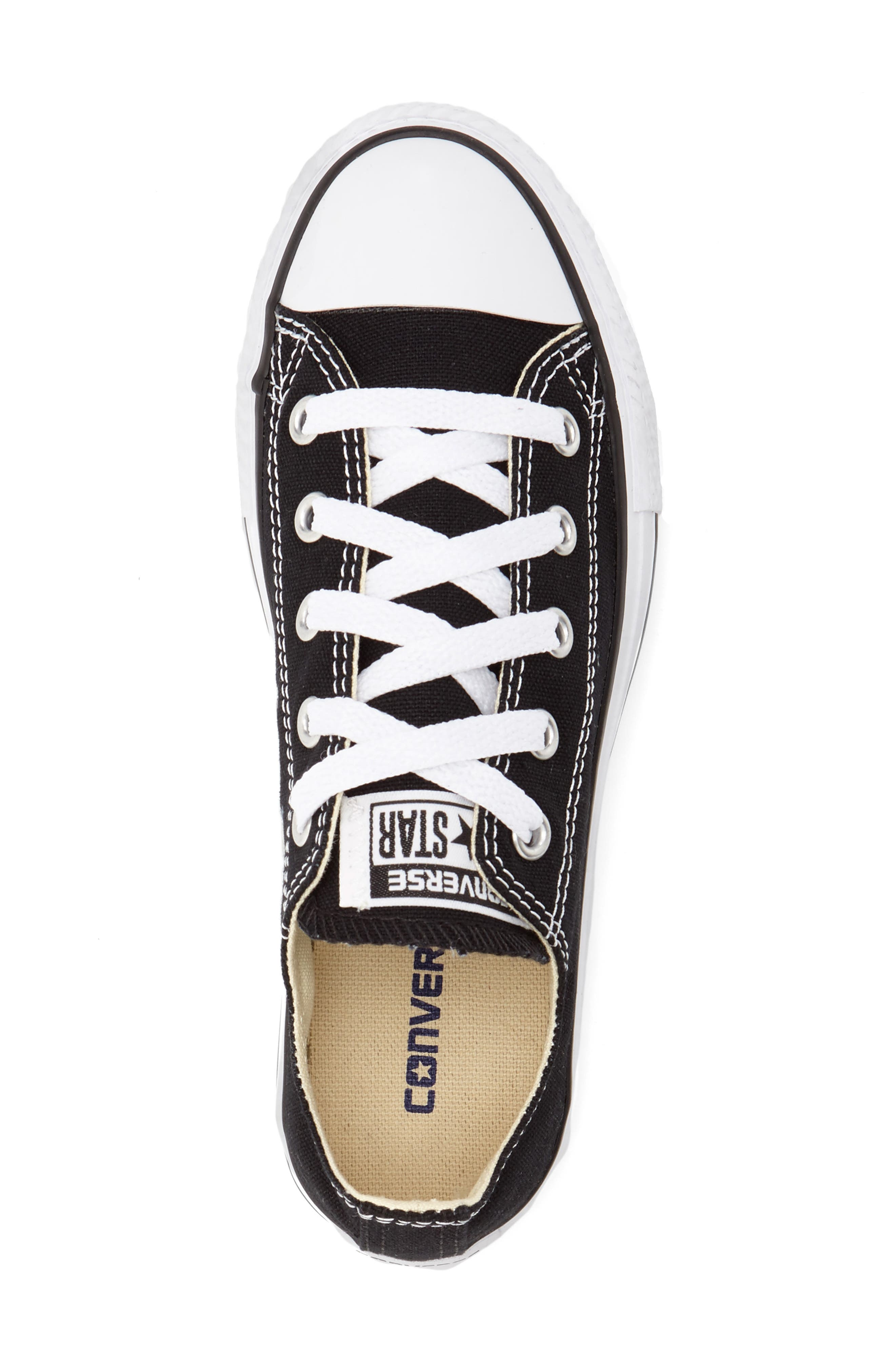 Chuck Taylor<sup>®</sup> Sneaker,                             Alternate thumbnail 3, color,                             BLACK