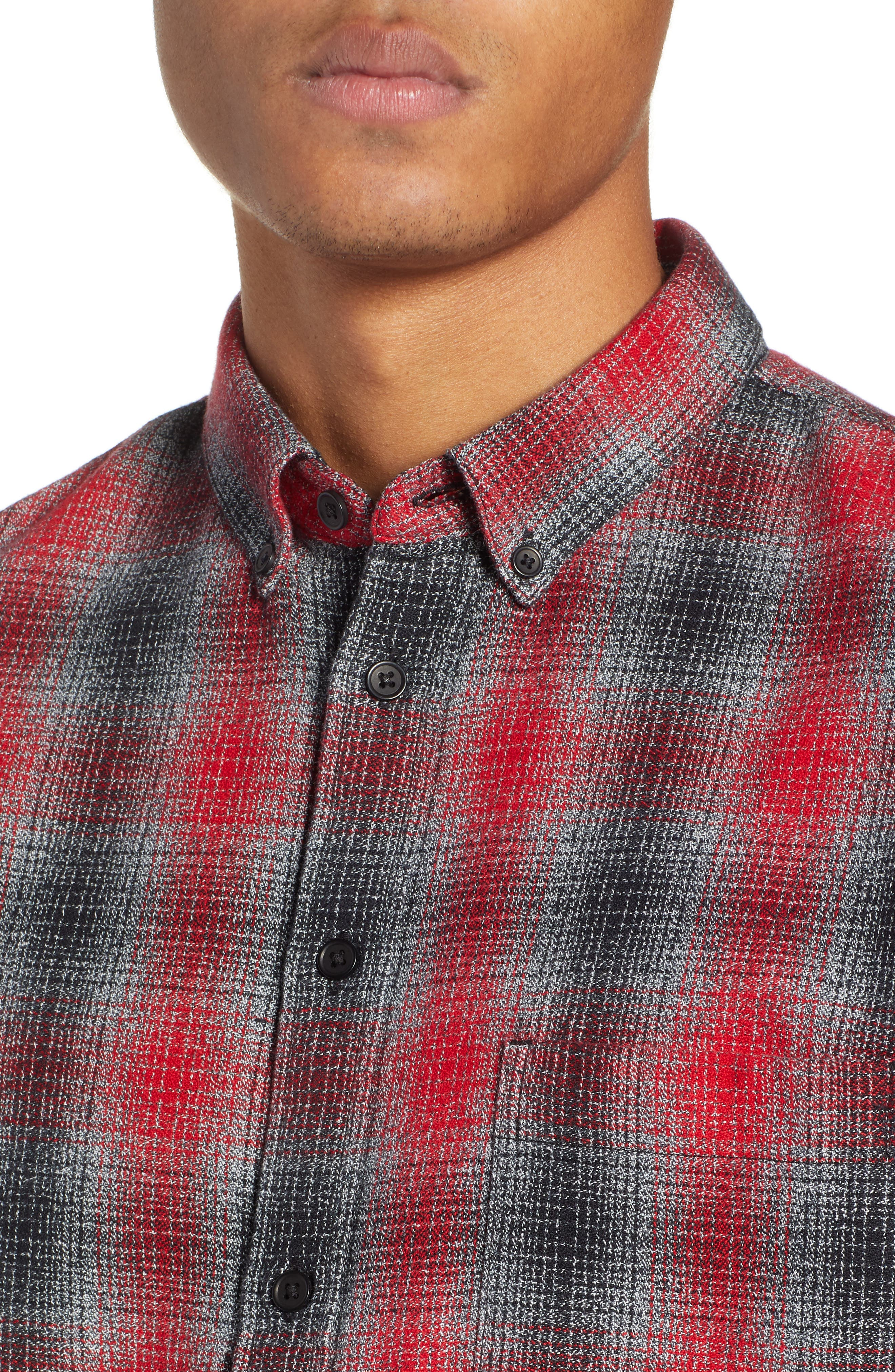 LEVI'S<SUP>®</SUP> MADE & CRAFTED<SUP>™</SUP>,                             Standard Plaid Sport Shirt,                             Alternate thumbnail 2, color,                             800