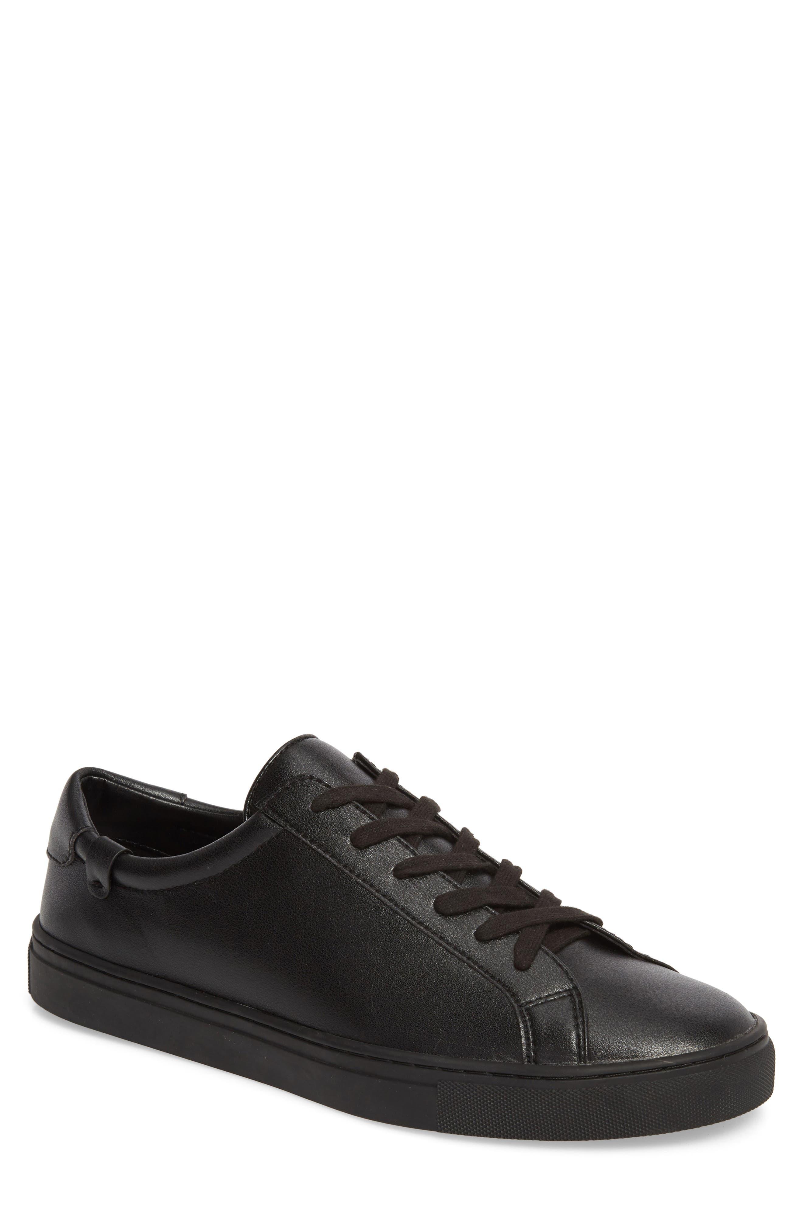 Original Low Top Sneaker,                         Main,                         color, BLACK / BLACK