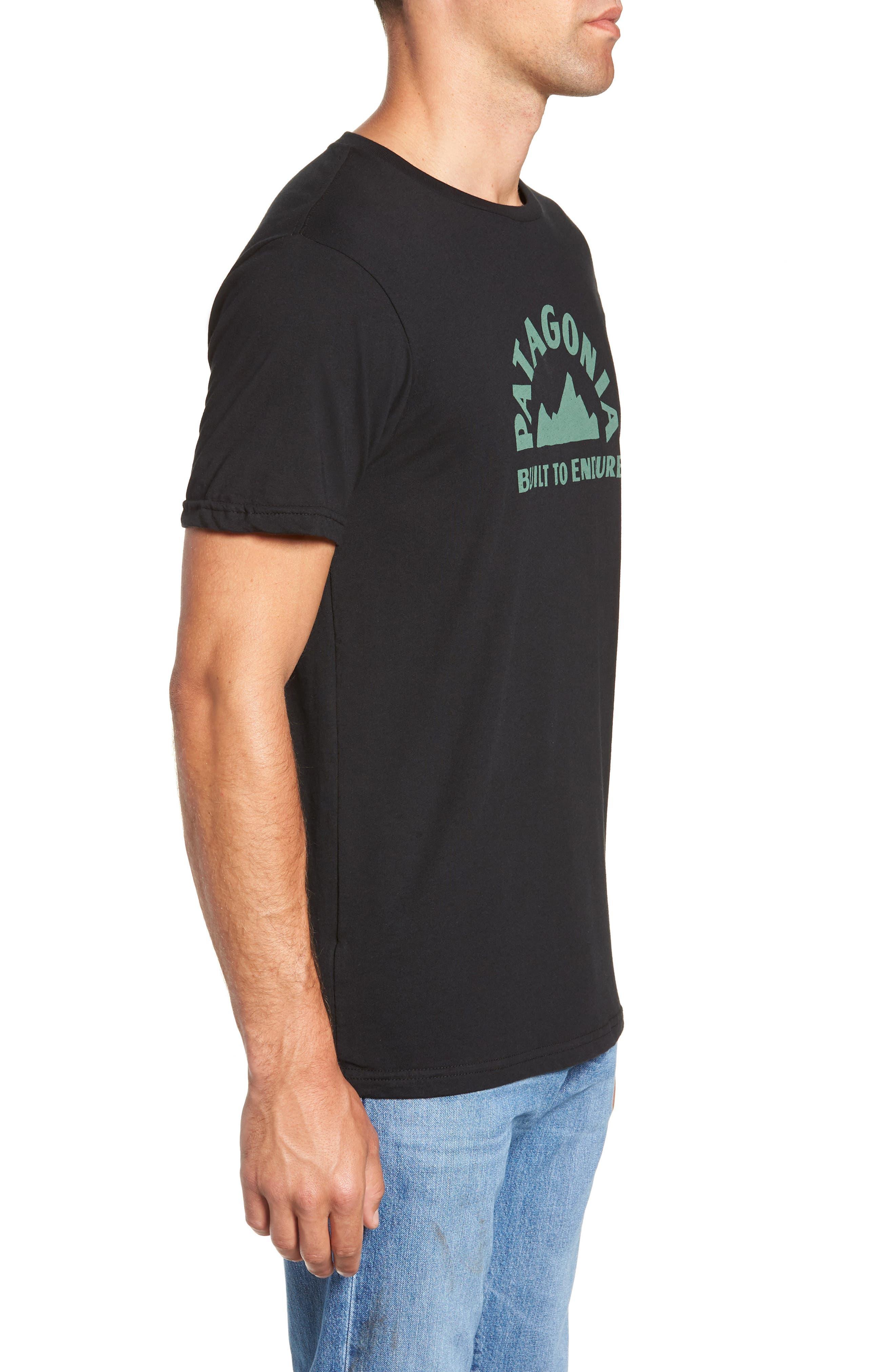 Geologers Organic Cotton T-Shirt,                             Alternate thumbnail 3, color,                             BLACK