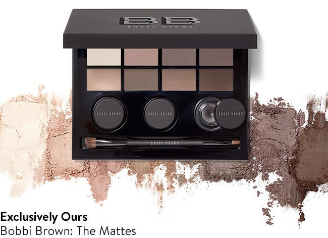 Bobbi Brown: the mattes.