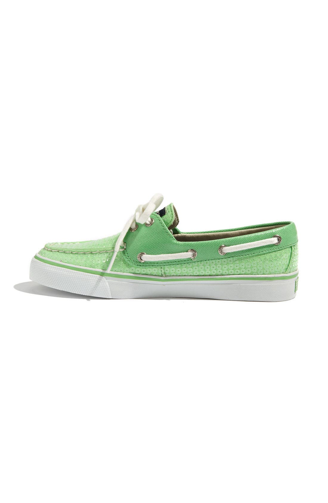 Top-Sider<sup>®</sup> 'Bahama' Sequined Boat Shoe,                             Alternate thumbnail 102, color,