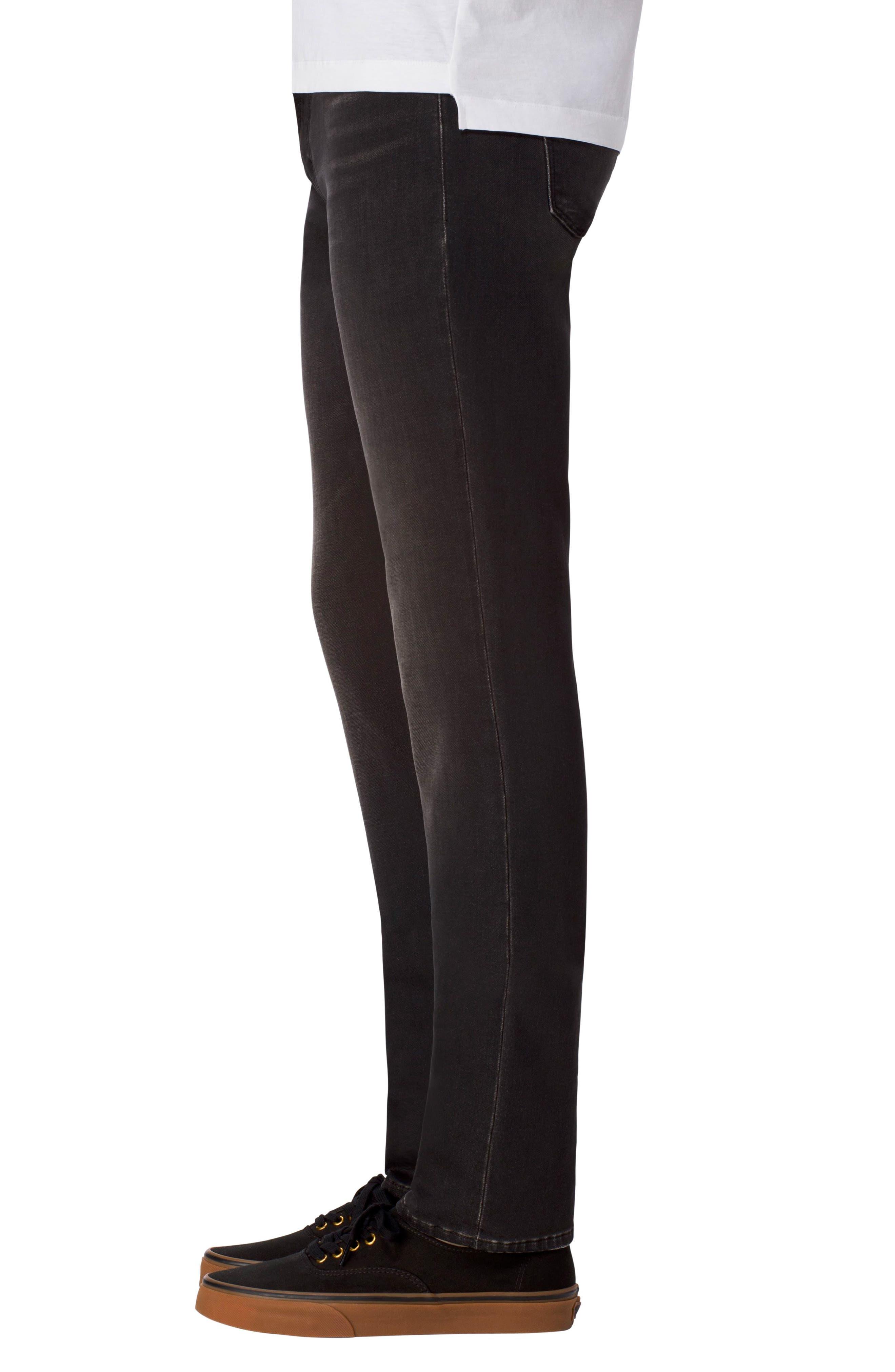 Tyler Slim Fit Jeans,                             Alternate thumbnail 3, color,                             001