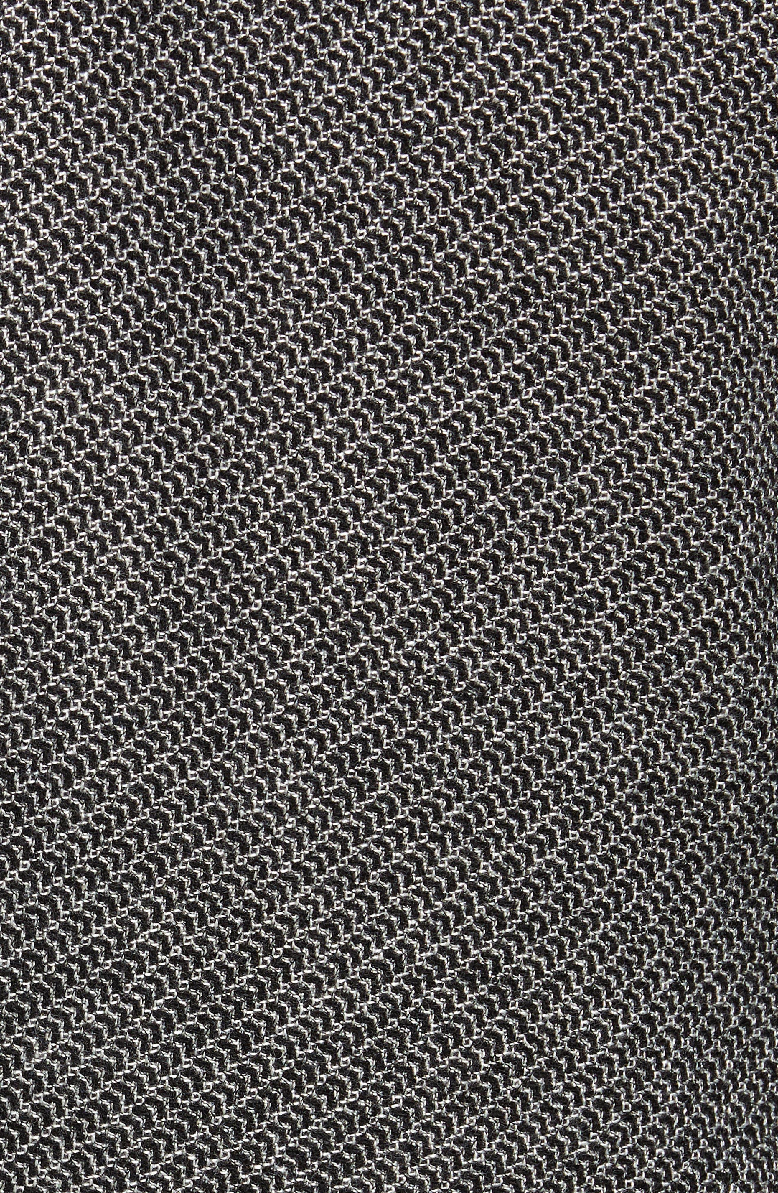 Raye Extra Trim Fit Wool Blend Blazer,                             Alternate thumbnail 6, color,                             DARK GREY