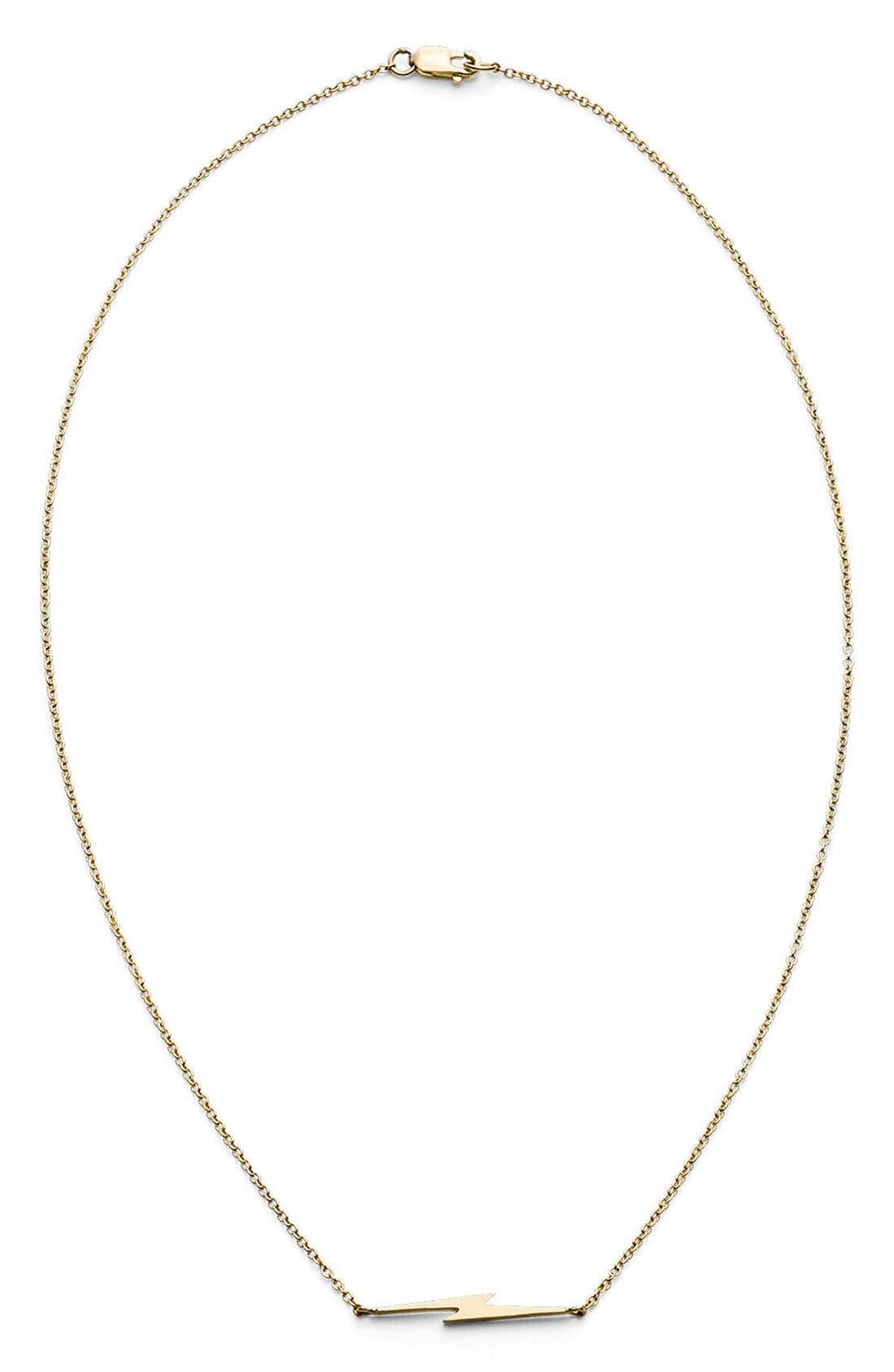 Bolt Necklace, Main, color, 710