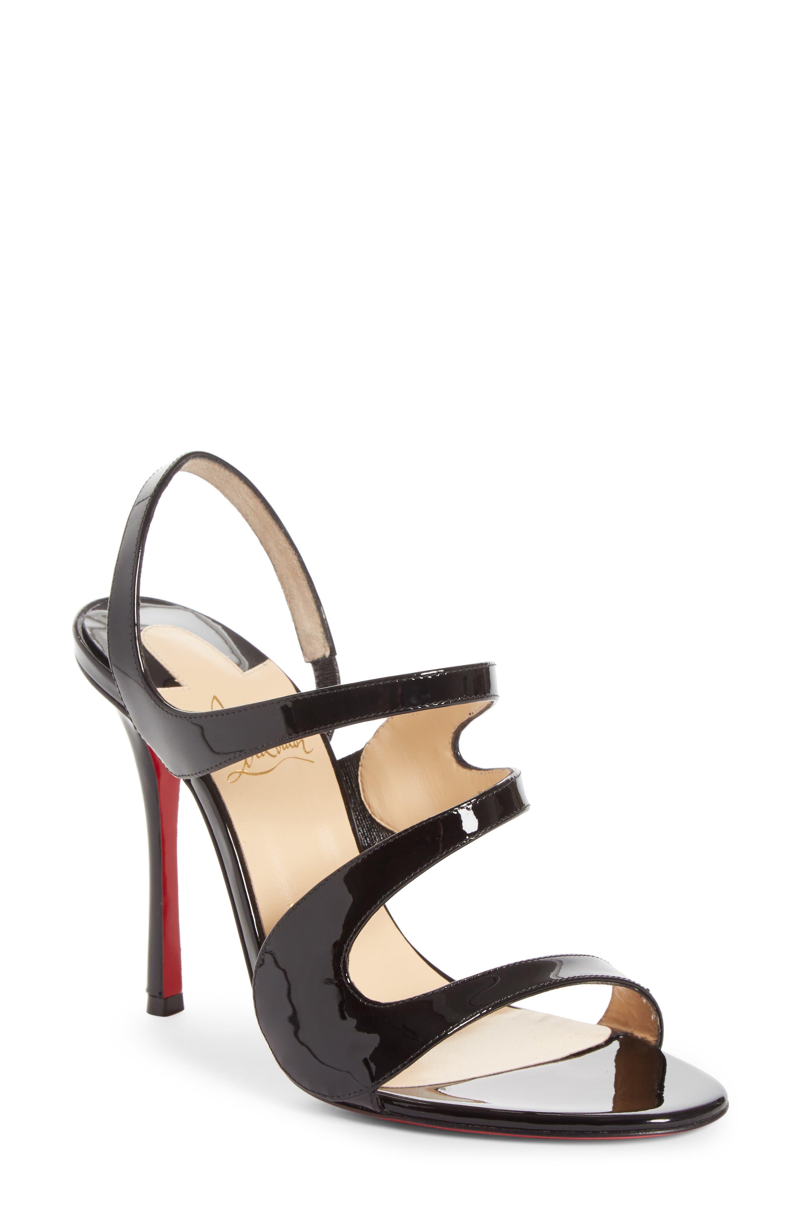 Vavazou Slingback Sandal,                         Main,                         color, BLACK