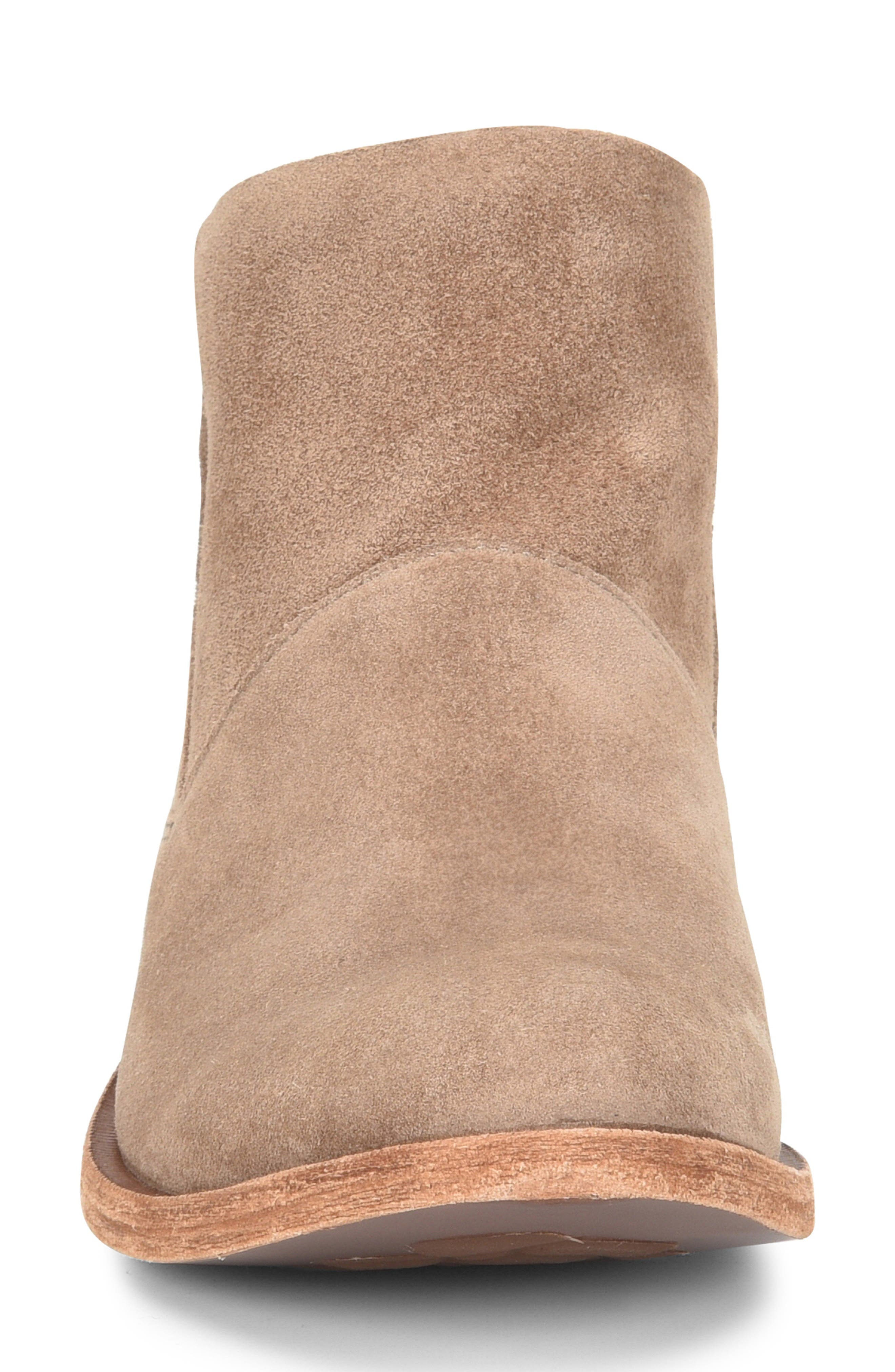 Ryder Ankle Boot,                             Alternate thumbnail 4, color,                             TAUPE GREY SUEDE