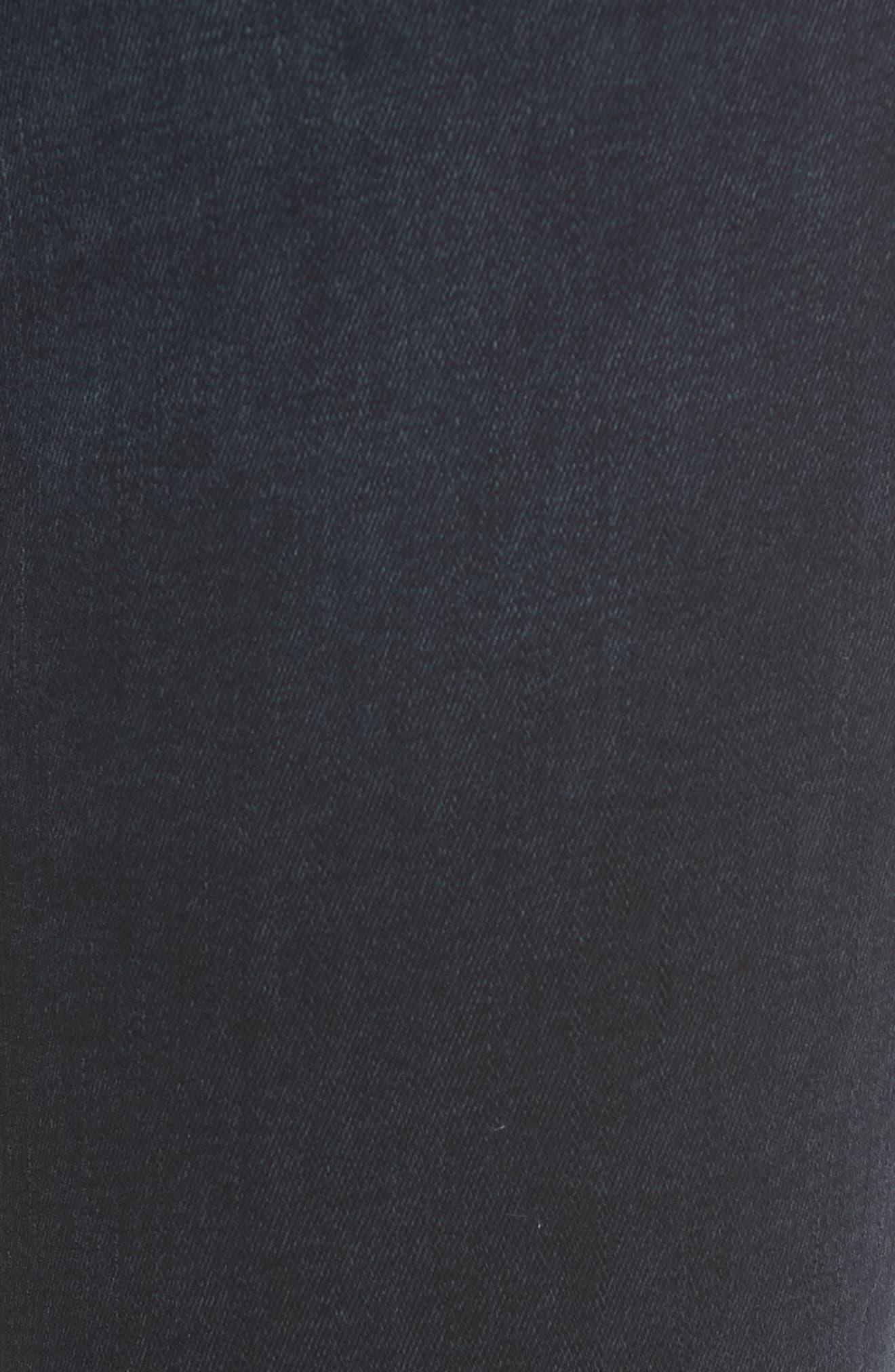 Chrissy Ultra High Waist Ankle Skinny Jeans,                             Alternate thumbnail 6, color,                             PORTER