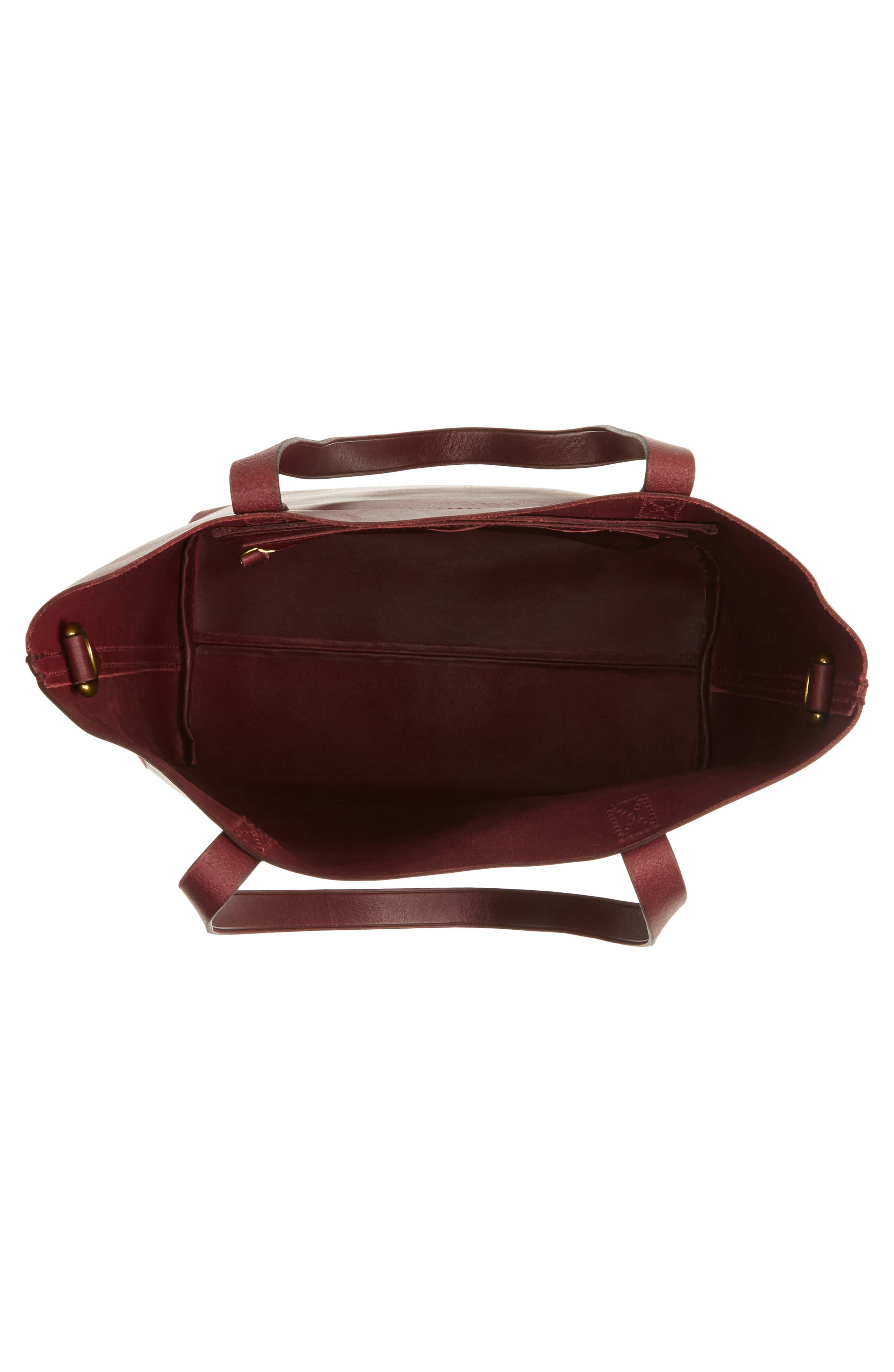 Medium Leather Transport Tote,                             Alternate thumbnail 56, color,