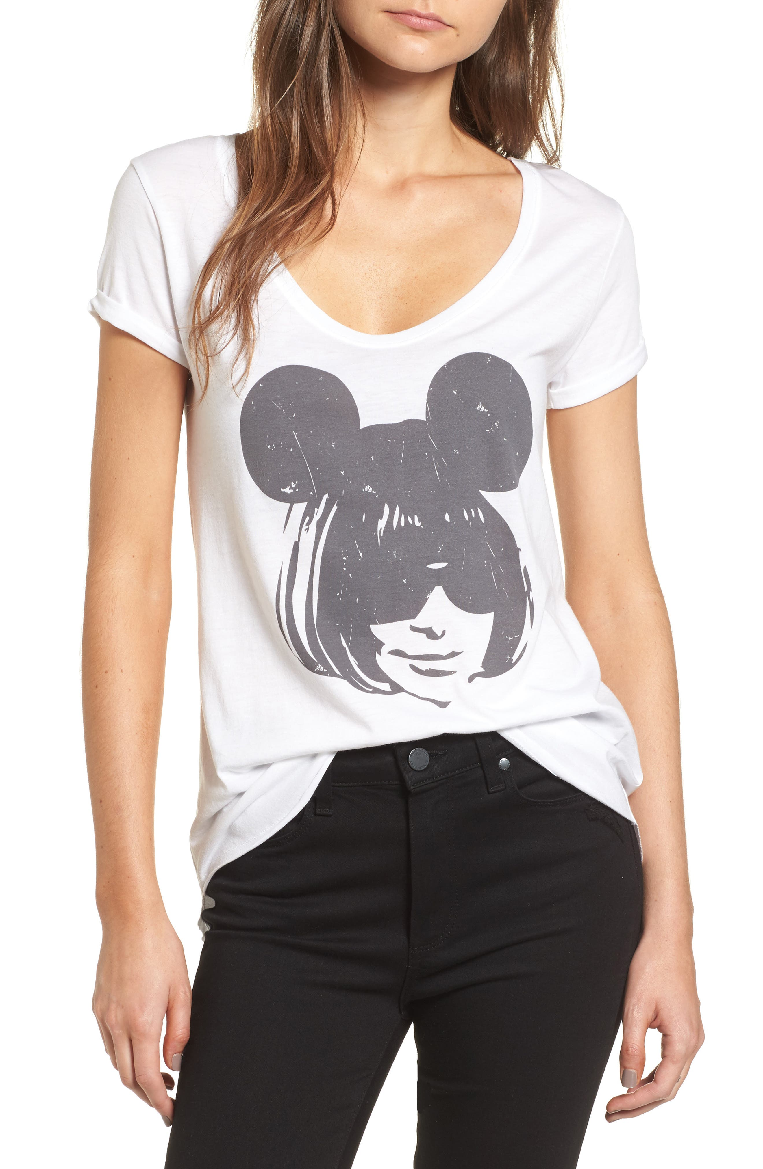 Anna Mouse Tee,                         Main,                         color, 100