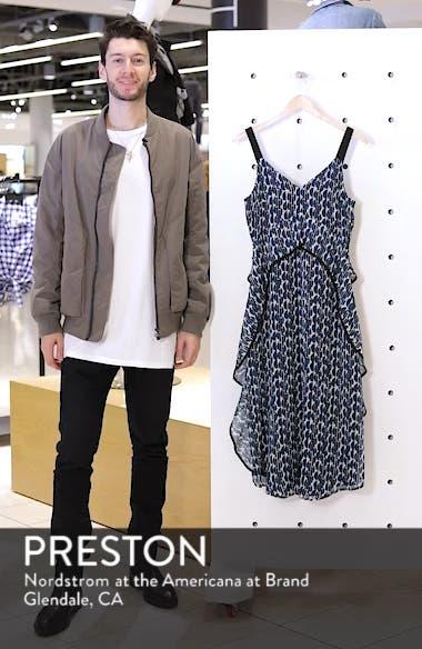 Print Frill Midi Dress, sales video thumbnail