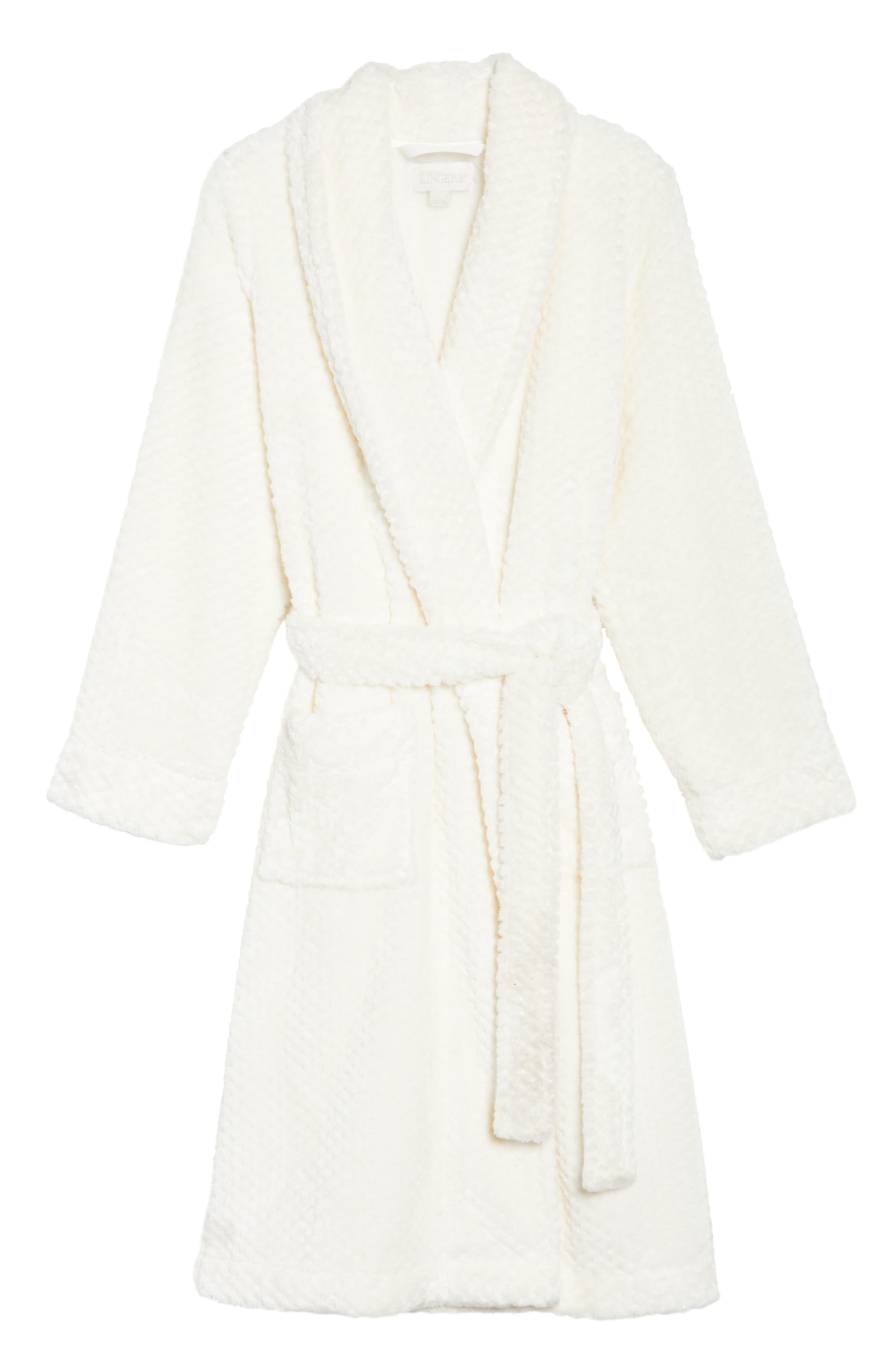 Nordstrom So Soft Plush Robe,                             Alternate thumbnail 18, color,